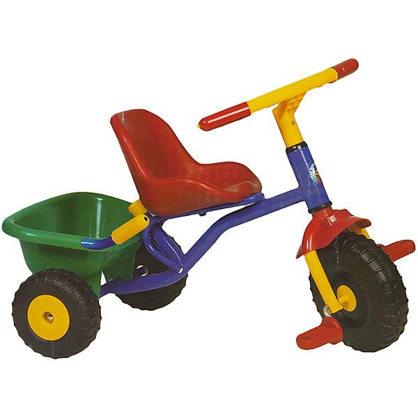 Велосипед трехколесный Teeny Trike, OfratВелосипеды детские<br>Детский 3-х колесный велосипед Teeny Trike современного дизайна с широкой, устойчивой и крепкой конструкцией - прекрасный вариант для прогулок. Прочная стальная рама и детали из высококачественного пластика гарантируют устойчивость и долговечность. Велосипед имеет удобное эргономичное сиденье с ремнями безопасности и плавной регулировкой положения – ближе-дальше к рулю; рифленые пластиковые педали; устойчивые колеса; тормоз на заднем колесе и звоночек на руле. Модель оснащена вместительной багажной корзиной, которая откидывается как кузов самосвала. <br><br>Дополнительная информация:<br><br>- Материал: сталь, пластик, резина.<br>- Вес: 3,5 кг. <br>- Размер: 51х24,5х28,2 см. <br>- Высота с толкателем: 89-95 см.<br>- Для детей от 15 мес.<br>- Удобное сиденье.<br>- Ремень безопасности.<br>- Рифленые пластиковые педали.<br>- Откидывающаяся корзина для игрушек. <br>- Широкая резиновая накладка на переднем колесе. <br>- Ручной тормоз на заднее колесо.<br>- Звоночек на руле.<br><br>- Сделано в Израиле<br><br>Велосипед трехколесный Teeny Trike, Ofrat, можно купить в нашем магазине.<br>Ширина мм: 280; Глубина мм: 250; Высота мм: 510; Вес г: 3300; Возраст от месяцев: 18; Возраст до месяцев: 36; Пол: Унисекс; Возраст: Детский; SKU: 4633668;