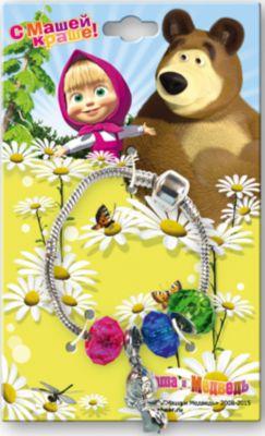 - Браслет и шармы Маша и медведь