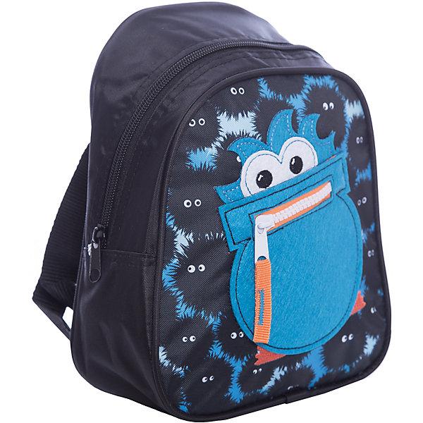 Дошкольный рюкзак МонстрикДетские рюкзаки<br>Стильный рюкзачок «Монстрик» от компании «РОСМЭН» – это невероятно привлекательный аксессуар для вашего малыша. В его внутреннем отделении на молнии легко поместятся не только игрушки, но даже тетрадка или книжка. Благодаря регулируемым лямкам, рюкзачок подходит детям любого роста. Удобная ручка помогает носить аксессуар в руке или размещать на вешалке. Изделие изготовлено из износостойкой, водонепроницаемой ткани, поэтому оно будет служить долгое время, сохраняя положенные в него вещи сухими даже в дождливую погоду. Рюкзачок декорирован уникальным кармашком из фетра в форме монстрика со ртом в виде молнии, вышивкой и стильным принтом (сублимированной печатью). Размер: 23х19х8 см.<br><br>Ширина мм: 255<br>Глубина мм: 200<br>Высота мм: 25<br>Вес г: 153<br>Возраст от месяцев: 36<br>Возраст до месяцев: 72<br>Пол: Унисекс<br>Возраст: Детский<br>SKU: 4635132