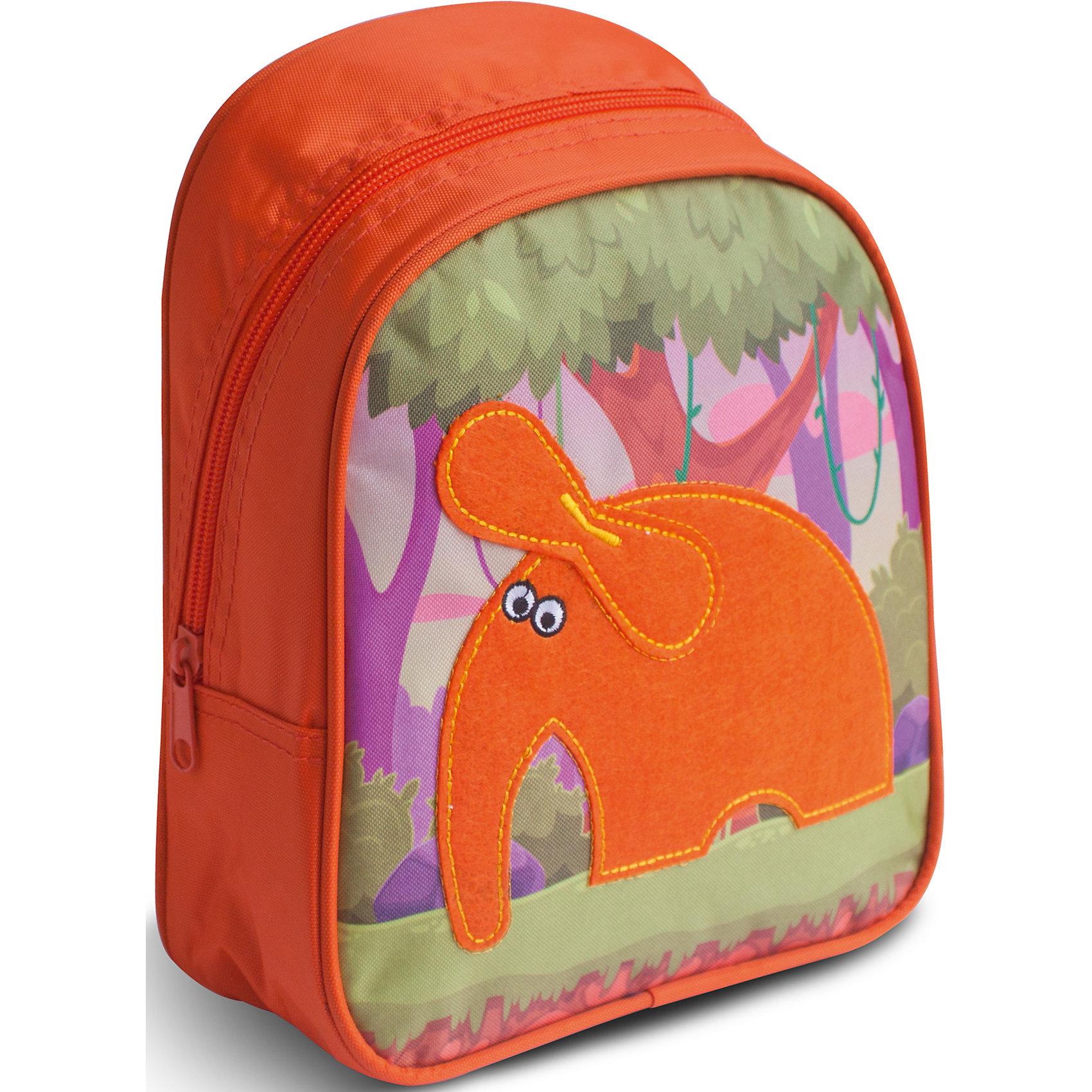 Дошкольный рюкзак СлонОчаровательный рюкзачок «Слон» от компании «РОСМЭН» – это невероятно привлекательный аксессуар для вашего малыша. В его внутреннем отделении на молнии легко поместятся не только игрушки, но даже тетрадка или книжка. Благодаря регулируемым лямкам, рюкзачок подходит детям любого роста. Удобная ручка помогает носить аксессуар в руке или размещать на вешалке. Изделие изготовлено из износостойкой, водонепроницаемой ткани, поэтому оно будет служить долгое время, сохраняя положенные в него вещи сухими даже в дождливую погоду. Рюкзачок декорирован аппликацией из фетра в виде милого слоника, вышивкой и цветным принтом (сублимированной печатью). Размер: 23х19х8 см.<br><br>Ширина мм: 255<br>Глубина мм: 220<br>Высота мм: 25<br>Вес г: 163<br>Возраст от месяцев: 36<br>Возраст до месяцев: 72<br>Пол: Унисекс<br>Возраст: Детский<br>SKU: 4635133