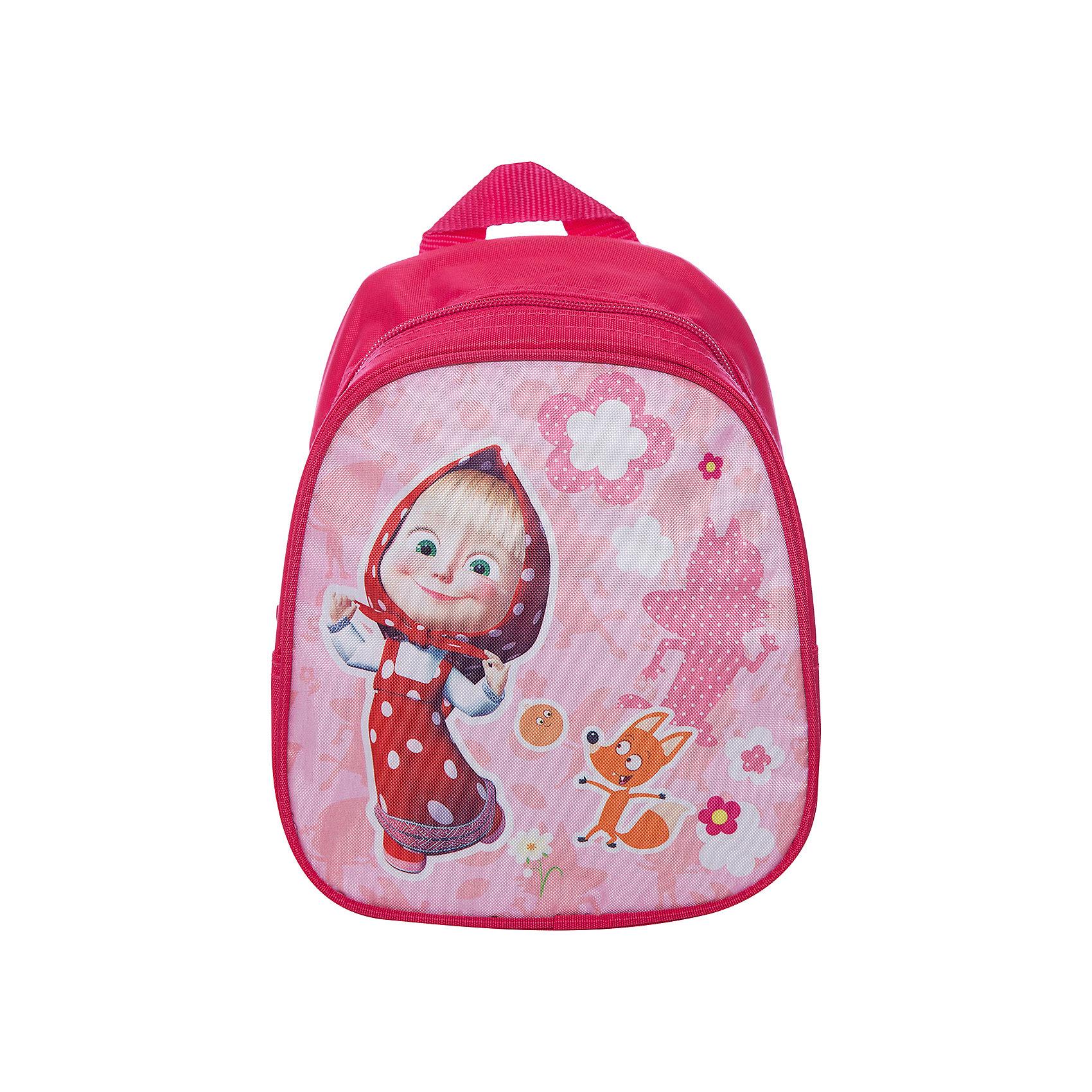 Дошкольный рюкзак Фантазия, Маша и МедведьДетские рюкзаки<br>Очаровательный дошкольный рюкзачок «Свинка Пеппа» – это невероятно привлекательный аксессуар для вашей малышки. В его внутреннем отделении на молнии легко поместятся не только игрушки, но даже тетрадка или книжка. Благодаря регулируемым лямкам, рюкзачок подходит детям любого роста. Удобная ручка помогает носить аксессуар в руке или размещать на вешалке. Изделие изготовлено из износостойкой, водонепроницаемой ткани, поэтому оно будет служить долгое время, сохраняя положенные в него вещи сухими даже в дождливую погоду. Рюкзачок декорирован привлекательным принтом (сублимированной печатью). Размер: 23х19х8 см.<br><br>Ширина мм: 255<br>Глубина мм: 210<br>Высота мм: 25<br>Вес г: 161<br>Возраст от месяцев: 36<br>Возраст до месяцев: 72<br>Пол: Женский<br>Возраст: Детский<br>SKU: 4635135