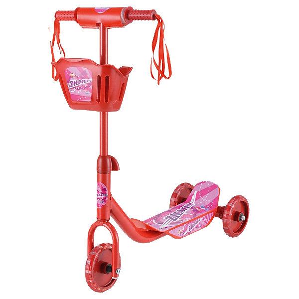 Самокат ZC-65 мини, ZilmerСамокаты<br>Самокат ZC-65 мини от Zilmer поможет ребёнку не только весело провести время, но и развить координацию, равновесие, ответственность и физическую форму. Три колеса делают его более устойчивым. Модель имеет широкую платформу, рифленые антискользящие ручки и удобную корзину для игрушек, которая располагается спереди. Самокат очень прост в использовании, изготовлен из безопасных прочных материалов. <br><br>Дополнительная информация:<br><br>- Материал: металл, ПВХ, пластик. <br>- Размер самоката: 50х10,5х65 см.<br>- Диаметр колес: 12,5 см.<br>- Количество колес: 3.<br>- Широкая платформа.<br>- Антискользящие рифленые ручки. <br>- Максимальная нагрузка: 20 кг.<br>- Корзина спереди. <br><br>Самокат ZC-65 мини, Zilmer, можно купить в нашем магазине.<br>Ширина мм: 470; Глубина мм: 130; Высота мм: 320; Вес г: 1850; Возраст от месяцев: 72; Возраст до месяцев: 1188; Пол: Унисекс; Возраст: Детский; SKU: 4635553;