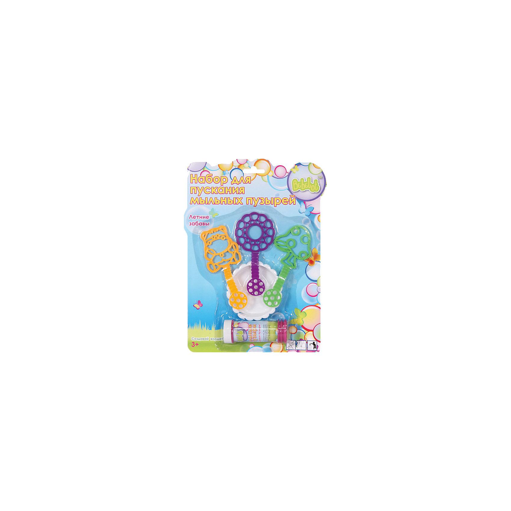 - Набор для пускания мыльных пузырей Летние забавы, Bebelot игрушка для активного отдыха bebelot захват beb1106 045