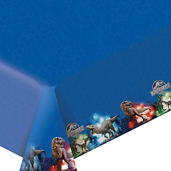 Скатерть Парк Юрского периода 133 * 183 смСалфетки и скатерти<br>Стильная полиэтиленовая скатерть «Парк Юрского периода» размером 133х183 см поможет сделать детское торжество ярче и веселее: она отлично украсит праздничный стол и сохранит его в чистоте. А высокое качество скатерти позволит использовать ее много раз. Вы также можете выбрать другие товары из данной серии: стаканы, тарелки, салфетки, язычки, колпаки, маски, приглашение в конверте, маски, пакеты и др.<br>Ширина мм: 170; Глубина мм: 170; Высота мм: 10; Вес г: 106; Возраст от месяцев: 48; Возраст до месяцев: 120; Пол: Унисекс; Возраст: Детский; SKU: 4637463;