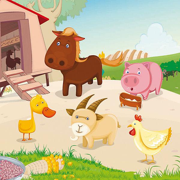 Водораскраски-пазлы В деревнеРаскраски по номерам<br>Водораскраски-пазлы В деревне – эта необычная водная раскраска-пазл вызовет восторг у вашего маленького художника.<br>Эта раскраска предназначена для тех, кто любит рисовать и изучать окружающий мир. Сначала малышу нужно собрать из четырех мягких деталей пазл, с изображением сельских животных, а затем раскрасить их смоченной в воде кисточкой. Для работы с этой раскраской не нужны ни карандаши, ни краски, потому что специальное водочувствительное покрытие меняет цвет при взаимодействии с водой. Высохнув, раскраска снова становится белой, поэтому её можно использовать снова и снова! Выполнена из мягкого и безопасного для детей материала.<br><br>Дополнительная информация:<br><br>- Издательство: Феникс-Премьер, 2015 г.<br>- Жанр: Мягкие пазлы<br>- Упаковка: блистер<br>- Количество страниц: 1<br>- Количество деталей: 4<br>- Материал: ПВХ<br>- Иллюстрации: цветные, белые<br>- Размер: 220x220x3 мм.<br>- Вес: 38 гр.<br><br>Водораскраску-пазл В деревне можно купить в нашем интернет-магазине.<br>Ширина мм: 220; Глубина мм: 3; Высота мм: 220; Вес г: 36; Возраст от месяцев: 12; Возраст до месяцев: 120; Пол: Унисекс; Возраст: Детский; SKU: 4637794;