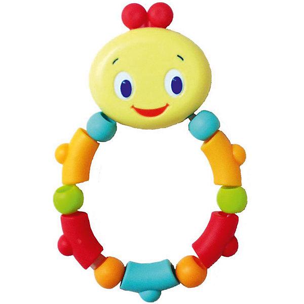 Прорезыватель «Гусеничка», оранжевая, Bright StartsПустышки<br>Прорезыватель Гусеничка, Bright Starts, поможет малышу снизить неприятные ощущения во время роста зубов. Прорезыватель выполнен в виде красочного кольца-гусенички с веселой мордочкой и разноцветными элементами разных форм. Ее структурная основа и мягкая поверхность идеальны для детских десен. Игрушку удобно хватать маленькими ручками, яркие цвета и приятная на ощупь фактура помогут развить тактильные ощущения и цветовосприятие.<br><br>Дополнительная информация:<br><br>- Материал: пластик.<br>- Размер игрушки: 18 х 5 х 1 см.<br>- Размер упаковки: 12 х 2 х 22 см.<br>- Вес: 70 гр.<br><br>Прорезыватель Гусеничка, Bright Starts, оранжевая, можно купить в нашем интернет-магазине.<br>Ширина мм: 119; Глубина мм: 193; Высота мм: 20; Вес г: 83; Возраст от месяцев: 0; Возраст до месяцев: 36; Пол: Унисекс; Возраст: Детский; SKU: 4637837;