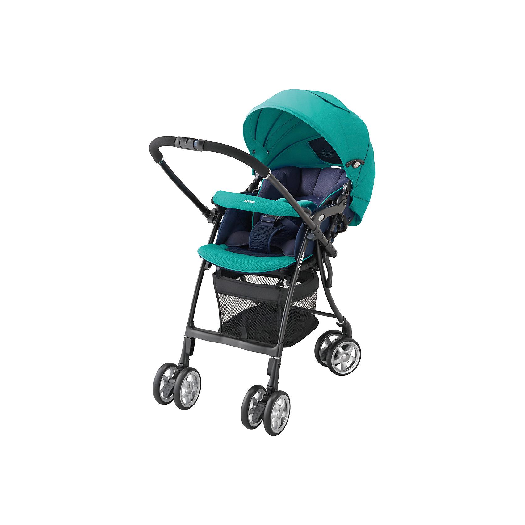 Aprica Прогулочная коляска Air Ria Lux, Aprica, /синий прогулочные коляски aprica luxuna air