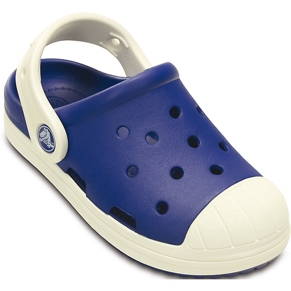 Сабо Kids' Crocs Bump It Clog для мальчика CrocsПляжная обувь<br>Характеристики товара:<br><br>• цвет: синий<br>• материал: 100% полимер Croslite™<br>• под воздействием температуры тела принимают форму стопы<br>• литая модель<br>• вентиляционные отверстия<br>• бактериостатичный материал<br>• пяточный ремешок фиксирует стопу<br>• толстая устойчивая подошва<br>• отверстия для использования украшений<br>• анатомическая стелька с массажными точками стимулирует кровообращение<br>• страна бренда: США<br>• страна изготовитель: Китай<br><br>Для правильного развития ребенка крайне важно, чтобы обувь была удобной. Такие сабо обеспечивают детям необходимый комфорт, а анатомическая стелька с массажными линиями для стимуляции кровообращения позволяет ножкам дольше не уставать. Сабо легко надеваются и снимаются, отлично сидят на ноге. Материал, из которого они сделаны, не дает размножаться бактериям, поэтому такая обувь препятствует образованию неприятного запаха и появлению болезней стоп. <br>Обувь от американского бренда Crocs в данный момент завоевала широкую популярность во всем мире, и это не удивительно - ведь она невероятно удобна. Её носят врачи, спортсмены, звёзды шоу-бизнеса, люди, которым много времени приходится бывать на ногах - они понимают, как важна комфортная обувь. Продукция Crocs - это качественные товары, созданные с применением новейших технологий. Обувь отличается стильным дизайном и продуманной конструкцией. Изделие производится из качественных и проверенных материалов, которые безопасны для детей.<br><br>Сабо Kids' Crocs Bump It Clog для мальчика от торговой марки Crocs можно купить в нашем интернет-магазине.<br><br>Ширина мм: 225<br>Глубина мм: 139<br>Высота мм: 112<br>Вес г: 290<br>Цвет: синий<br>Возраст от месяцев: 18<br>Возраст до месяцев: 21<br>Пол: Мужской<br>Возраст: Детский<br>Размер: 23,25,28,29,30,26,31/32,27,24<br>SKU: 4639442