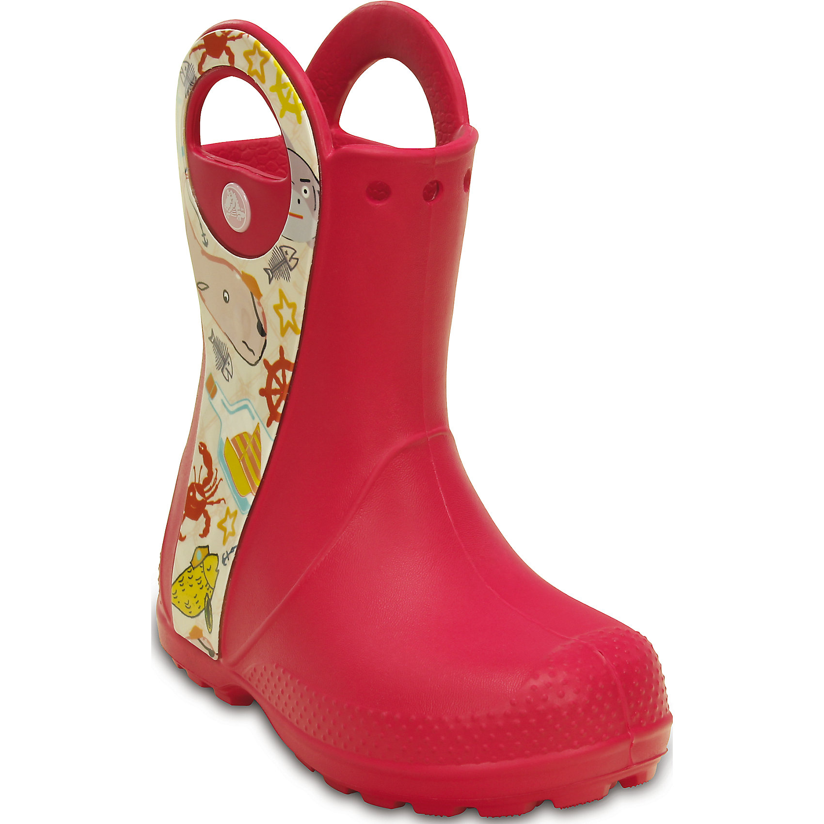 Резиновые сапоги Handle It Sea Life Boot K Crocs