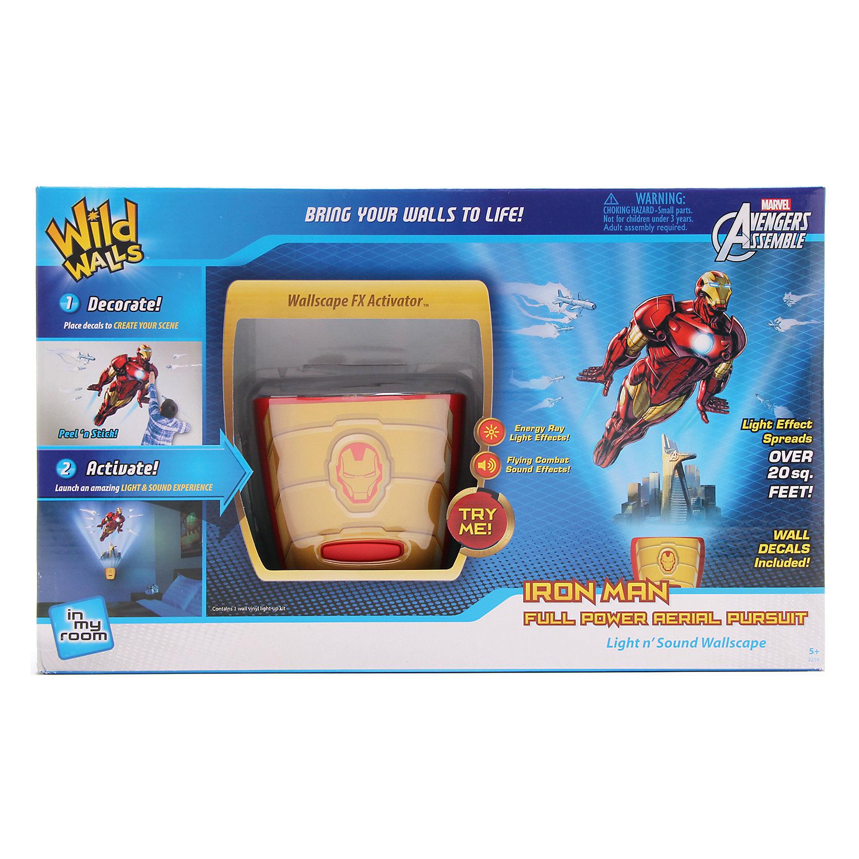 Uncle Milton Настенный проектор Железный человек uncle milton настенный проектор история игрушек звездная команда