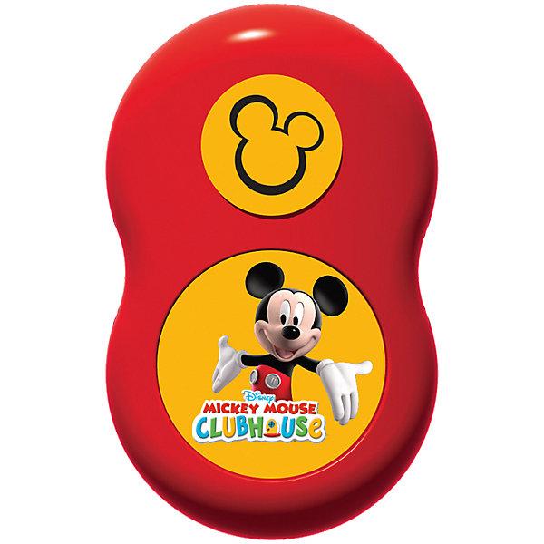 Светильник Микки МаусДетские предметы интерьера<br>Светильник Микки Маус – это светильник – ночник со звуковыми эффектами, который придаст комнате теплое освещение, особый уют.<br>Детский настенный светильник сделан в виде диснеевского героя - Микки Мауса. Датчик освещенности включает его автоматически с наступлением сумерек. Светильник может управляться с помощью пульта дистанционного управления с 1 большой кнопкой. Включите светильник и наблюдайте за тем, как ваш герой оживает. Он светится приятным мягким светом и общается с вами. Микки поочередно говорит фразы из мультфильма на английском языке (переключаются кнопкой на пульте).<br><br>Дополнительная информация:<br><br>- Возраст: 3+<br>- В комплекте: светильник, пульт ДУ<br>- Оснащен функцией автоотключения (через 15 минут после последнего действия)<br>- Монтируется на стену с помощью болтов (есть 3 специальные отверстия)<br>- Батарейки: 3 типа АА, 2 типа ААА (не входят в комплект)<br>- Материал: высококачественный пластик<br>- Размер упаковки: 7х37х25 см.<br>- Вес: 440 гр.<br><br>Светильник Микки Маус можно купить в нашем интернет-магазине.<br><br>Ширина мм: 7<br>Глубина мм: 37<br>Высота мм: 25<br>Вес г: 440<br>Возраст от месяцев: 36<br>Возраст до месяцев: 168<br>Пол: Унисекс<br>Возраст: Детский<br>SKU: 4639634