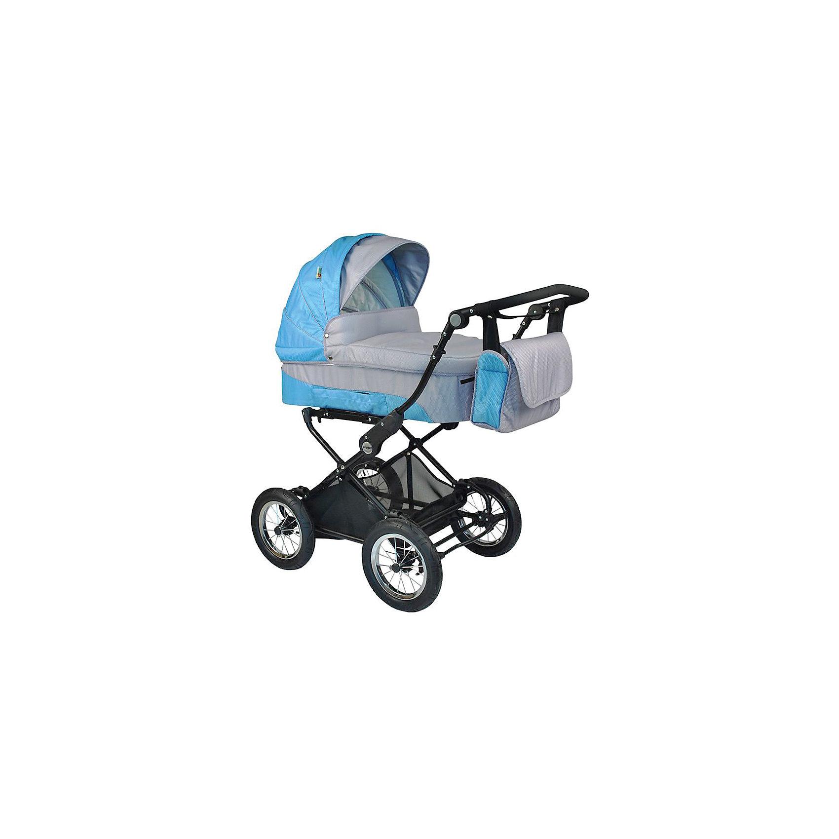 Коляска 2-в-1 EVENLY BabyHit, голубойУниверсальная коляска 2 в 1 Babyhit Evenly - достойный претендент на роль первого транспортного средства для Вашего малыша. Практичная, очень комфортная и надежная станет приятным приобретением,  как для Вас, так и для Вашего ребенка на протяжении всего срока эксплуатации.<br><br>Дополнительная информация::<br><br>Капюшон «батискаф» на люльке и прогулочном блоке<br>Регулируемая спинка прогулочного сиденья (до положения «лежа»)<br>Регулируемая по высоте ручка<br>Установка люльки и прогулочного блока в любом направлении движения<br>Ремни для переноски люльки в боковых карманах<br>Съемный поручень прогулочного сиденья с паховым ремнем<br>Колеса надувные, диаметр 30 см<br>Система амортизации на всех колесах<br>Багажная корзина<br><br>В комплекте:<br>Дождевик<br>Москитная сетка<br>Два полога<br>Сумка для мамы<br>Вес коляски с прогулочным блоком - 16,5 кг<br>Вес коляски с люлькой - 16 кг.<br>Вес прогулочного блока - 5,5 кг<br>Вес люльки - 5 кг<br>Вес рамы - 11 кг.<br><br>Коляску 2-в-1 EVENLY BabyHit, голубой можно купить в нашем магазине.<br><br>Ширина мм: 520<br>Глубина мм: 320<br>Высота мм: 850<br>Вес г: 22000<br>Цвет: голубой<br>Возраст от месяцев: 0<br>Возраст до месяцев: 36<br>Пол: Мужской<br>Возраст: Детский<br>SKU: 4640309