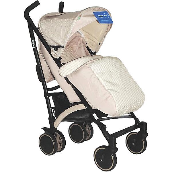 Коляска-трость RAINBOW, BabyHit, бежевыйКоляски-трости<br>Дополнительная информация:<br><br>Прогулочная коляска-трость предназначена для детей от 6-ти месяцев до 3-х лет.<br>Спинка сиденья регулируется в 3-х положениях для комфортного отдыха ребенка.<br>5-ти точечные ремни безопасности с мягкими плечевыми накладками и паховый ремень надежно удержат малыша на прогулке.<br>Бампер предназначен для дополнительной безопасности, снимается при необходимости.<br>Подножка регулируемая.<br>Капюшон-батискаф опускается до бампера.<br>Передние поворотные колеса с возможностью фиксации в положении прямо.<br>Все колеса амортизированы.<br>В сложенном виде коляску легко переносить с помощью удобной ручки.<br>Коляска автоматически блокируется при складывании.<br>Корзинка для покупок расположена в нижней части коляски.<br>Размеры коляски в разложенном виде: 85/43/108 см.<br>Ширина сиденья: 35 см.<br>Высота спинки: 47 см.<br>Глубина сиденья: 25 см.<br>Длина подножки: 13 см.<br>Размер спального места при поднятой подножке - 85 х 35 см.  <br>Диаметр колес: 18 см.<br>Вес коляски - 7,4 кг.<br>В комплекте:<br>Чехол для ножек. <br>Дождевик.<br>Москитная сетка.<br>Корзинка для покупок.<br>Сумка (нет в комплекте у колясок в расцветках: бежевый, голубой, малиновый). <br><br><br><br>Коляску-трость RAINBOW, BabyHit, бежевый можно купить в нашем магазине.<br>Ширина мм: 260; Глубина мм: 250; Высота мм: 900; Вес г: 8700; Цвет: бежевый; Возраст от месяцев: 6; Возраст до месяцев: 36; Пол: Унисекс; Возраст: Детский; SKU: 4640316;