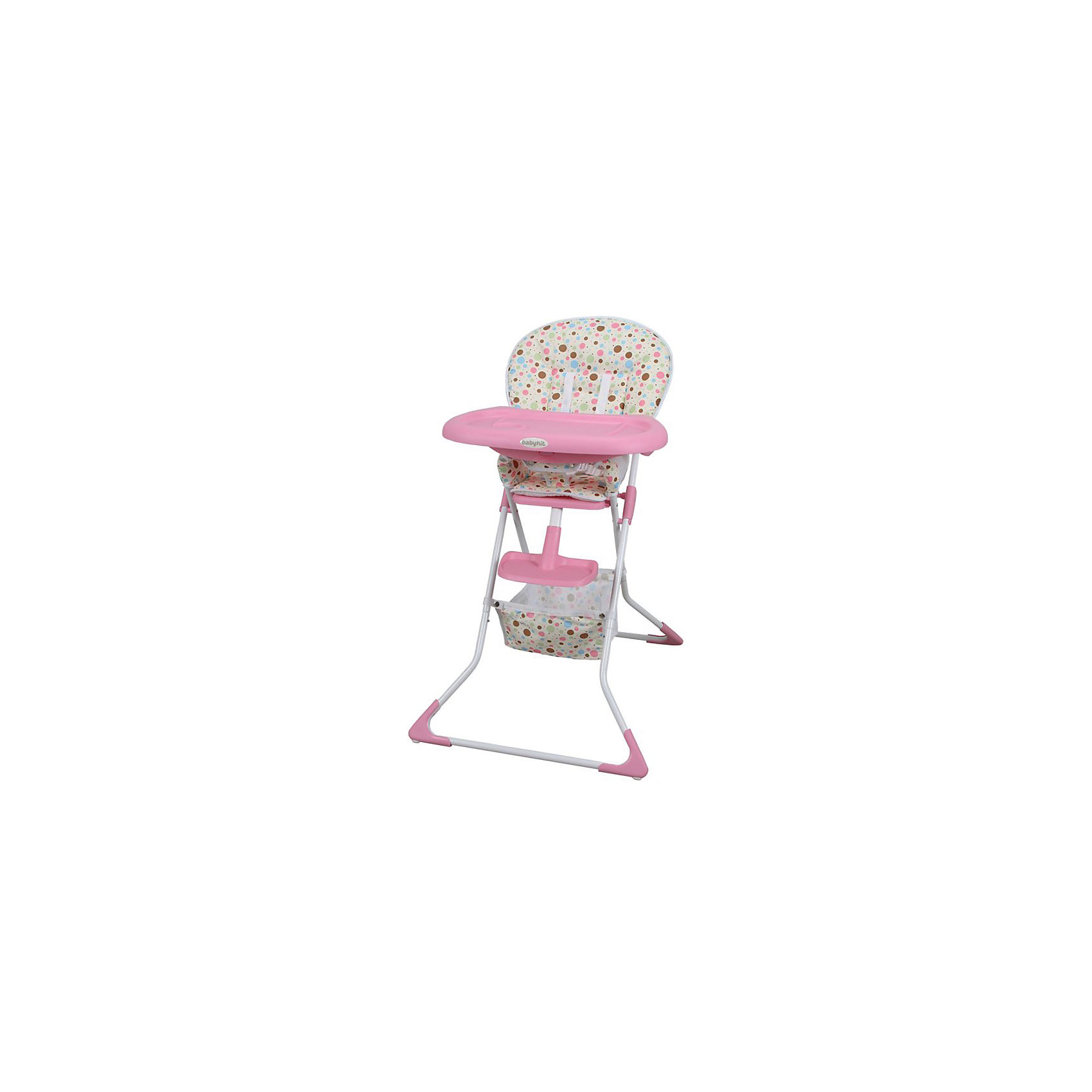 Стульчик для кормления TASTY TIME, BabyHit, розовый