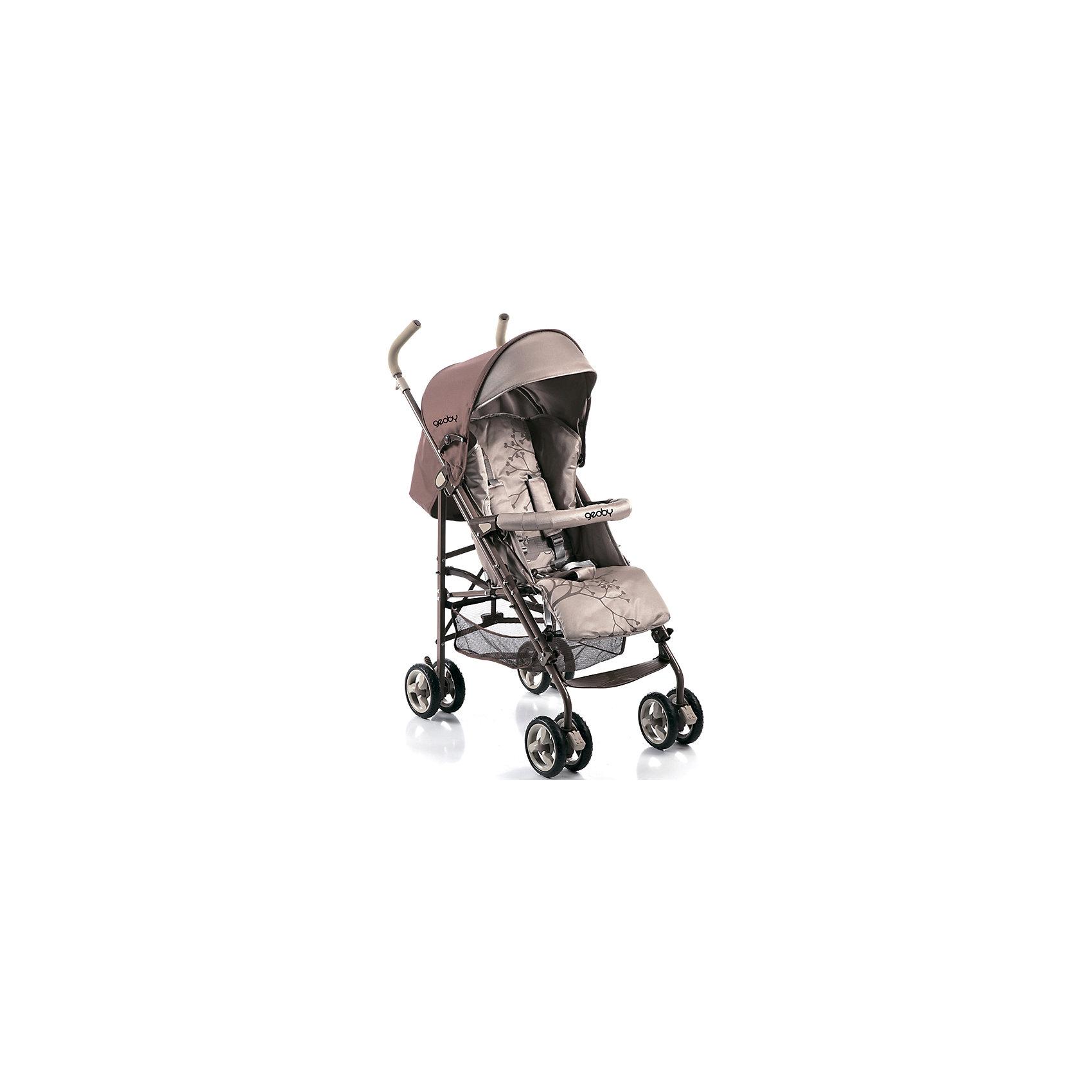 Коляска-трость 05D388W-F (R4KF), Geoby, бежевыйПрогулочная коляска D388W-F - отличный вариант для активных мам и малышей, она легкая, маневренная и в тоже время вместительная и уютная. Чехол для ножек и большой капюшон со смотровым окном обеспечат малышу тепло во время прогулок. Двойные поворотные колеса делают коляску маневренной и легкой в управлении. В случае необходимости колеса можно закрепить фиксатором. Трехточечные ремни безопасности и съемный мягкий поручень позволят маме расслабиться и не волноваться о малыше, ведь его безопасность под контролем надежной системы защиты.<br><br>Дополнительная информация:<br><br>Плавное регулирование спинки до положения лежа.<br>Жесткая спинка с мягкой набивкой.<br>Утепленный чехол на ножки.<br>Передние плавающие колеса с фиксатором.<br>3-х точечный ремень безопасности.<br>Съемное ограничительный бампер.<br>Увеличенный тент со смотровым окном.<br>Вместительная багажная корзина.<br>Размер коляски D388W:<br>В сложенном виде, В/Ш/Д - 105/47/85 см.<br>Диаметр колёс – 15,5 см.<br>В комплекте: москитная сетка, дождевик, полог<br><br>Коляску-трость 05D388W-F (R4KF), Geoby (Геоби), бежевый можно купить в нашем магазине.<br><br>Ширина мм: 295<br>Глубина мм: 275<br>Высота мм: 1090<br>Вес г: 10200<br>Цвет: бежевый<br>Возраст от месяцев: 6<br>Возраст до месяцев: 36<br>Пол: Унисекс<br>Возраст: Детский<br>SKU: 4640539