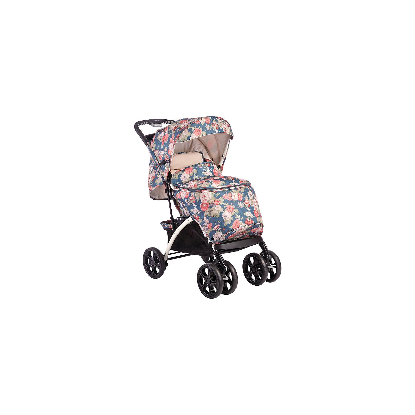 Прогулочная коляска C819R01 (RZHS), Geoby, бордовый/серый