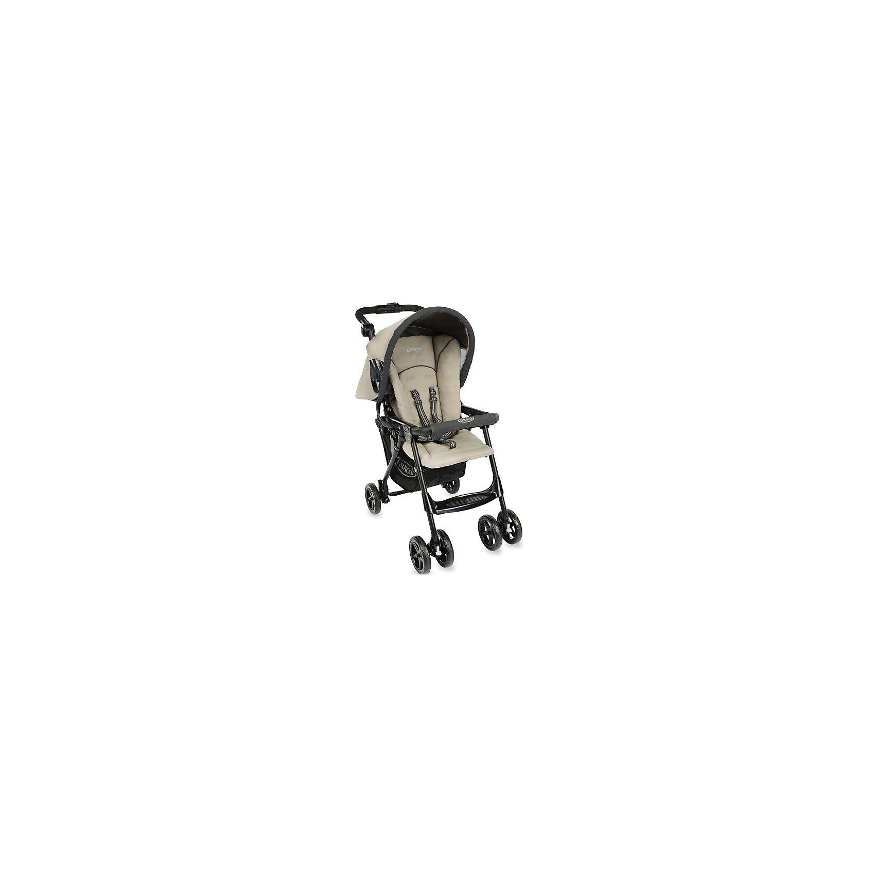 Graco Прогулочная коляска Citysport (PEBBLE), Graco коляска graco graco прогулочная коляска mirage w parent tray and boot jaffa stripe