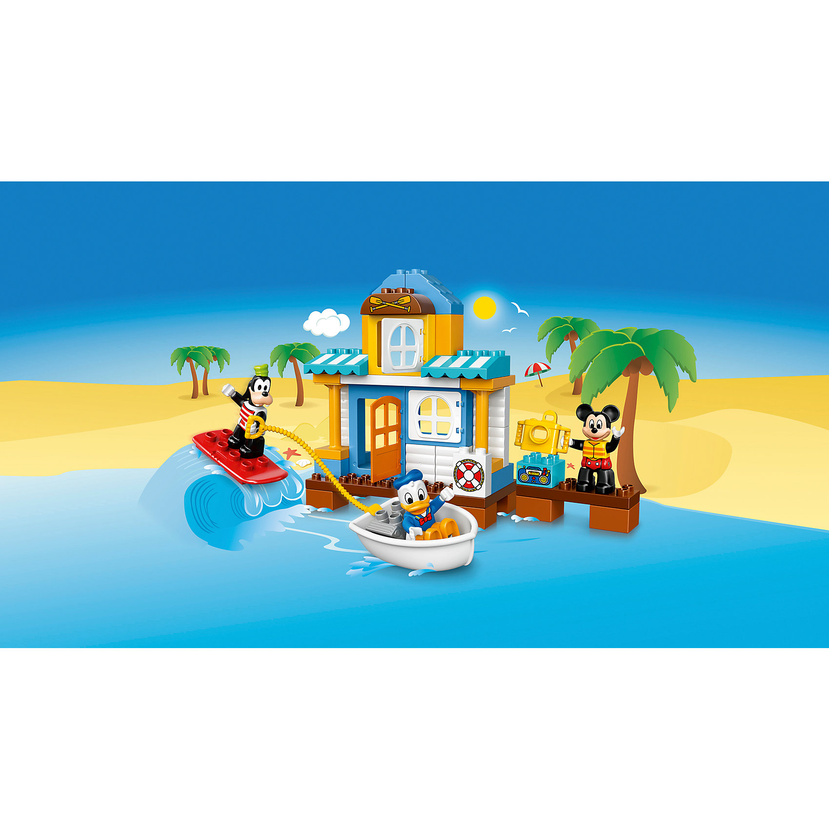 LEGO DUPLO 10827: Домик на пляже от myToys