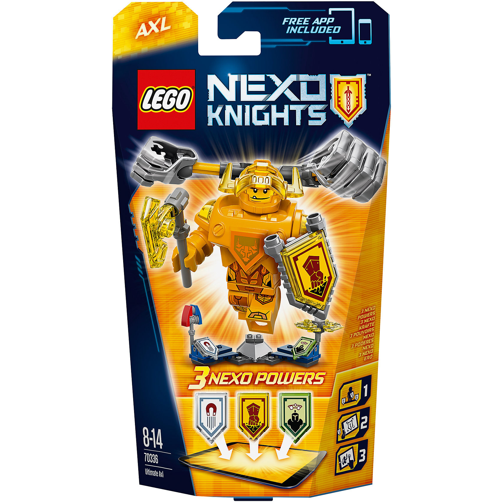 LEGO NEXO KNIGHTS 70336: ������- ���������� ����