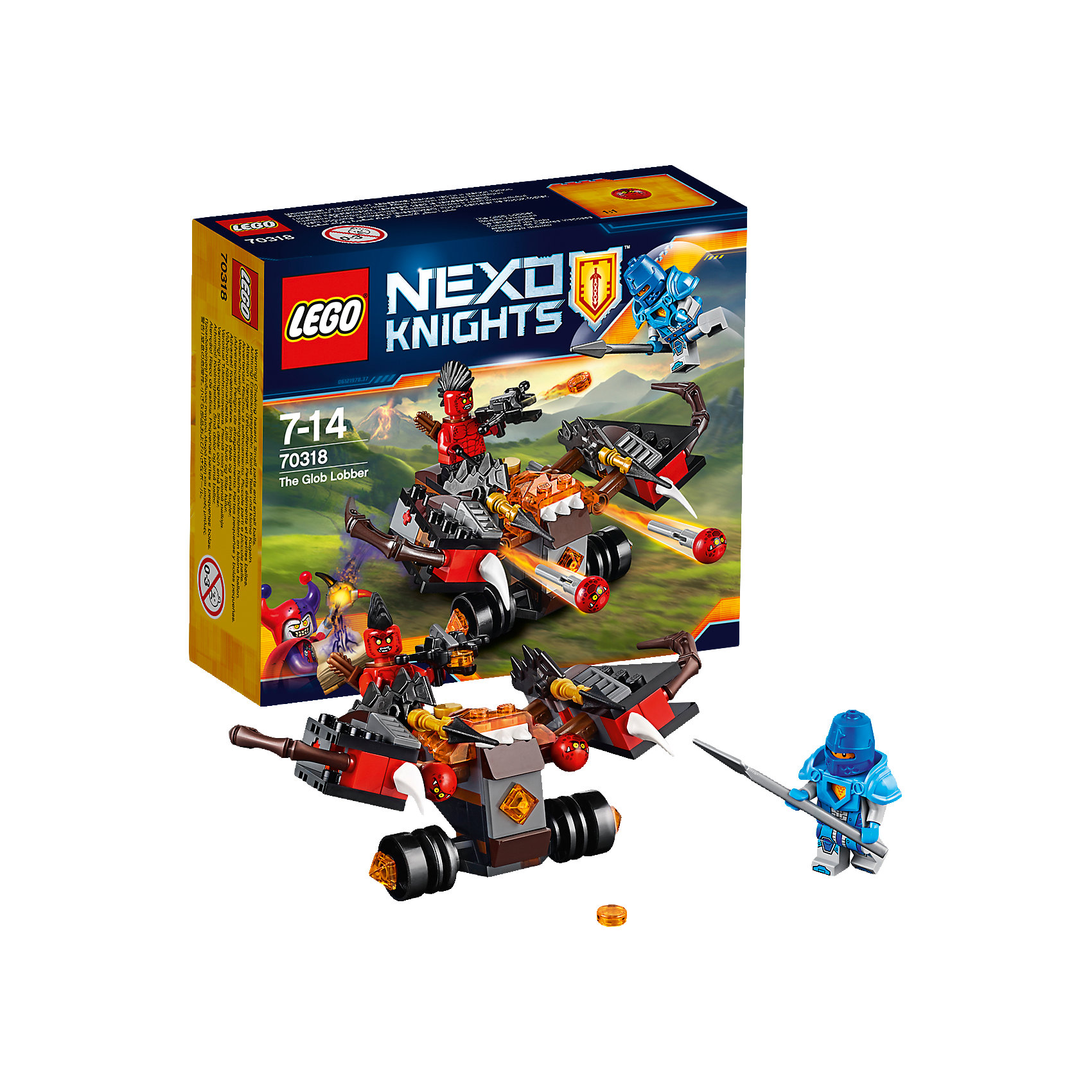 LEGO LEGO NEXO KNIGHTS 70318: Шаровая ракета мфу hp deskjet ink advantage ultra 2529 k7w 99 a