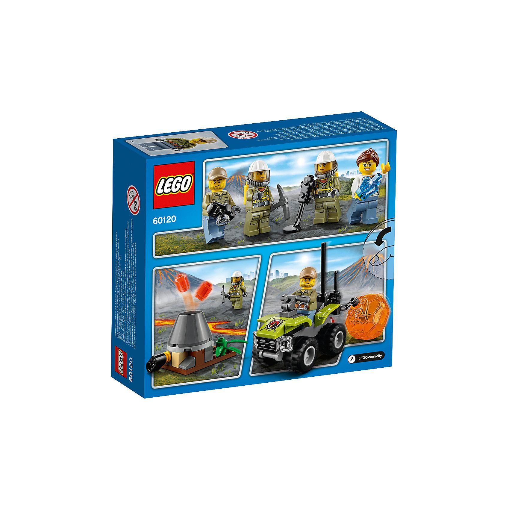 """LEGO City 60120: Набор для начинающих """"Исследователи Вулканов"""" от myToys"""