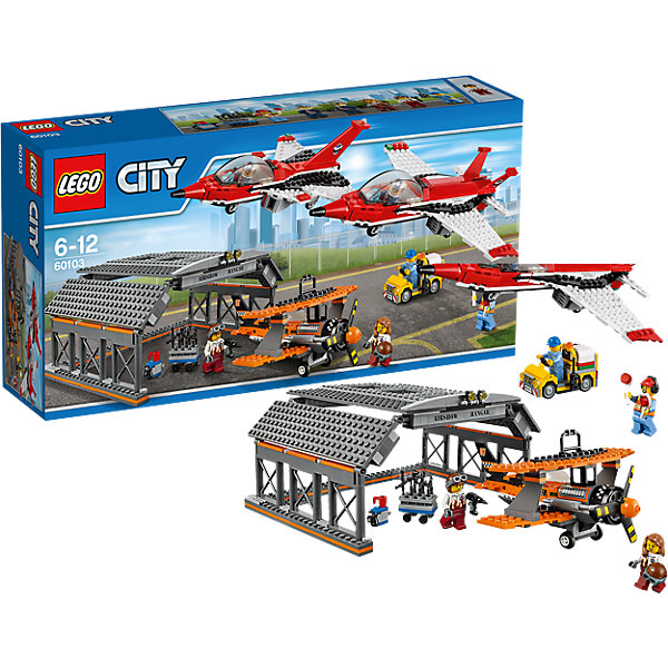 LEGO City 60103: Авиашоу