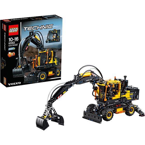LEGO Technic 42053: Экскаватор Volvo EW 160EКонструкторы Лего<br>Собрать самому экскаватор - это так увлекательно! Разнообразную технику и  конструкторы обожает множество современных мальчишек, поэтому набор Лего Technic, из которого можно собрать экскаватор, выглядящий почти как настоящий, обязательно порадует ребенка. Такие игрушки помогают детям развивать воображение, мелкую моторику, логику и творческое мышление.<br>Набор состоит из множества деталей, с помощью которых можно собрать действительно крутую машину с большими функциональными способностями! С таким комплектом можно придумать множество игр!<br><br>Дополнительная информация:<br><br>цвет: разноцветный;<br>размер коробки: 38 х 9 х 35 см;<br>вес: 1644 г;<br>материал: пластик;<br>количество деталей: 1166.<br><br>Набор Экскаватор Volvo EW 160E от бренда LEGO Technic можно купить в нашем магазине.<br><br>Ширина мм: 355<br>Глубина мм: 375<br>Высота мм: 99<br>Вес г: 1712<br>Возраст от месяцев: 120<br>Возраст до месяцев: 192<br>Пол: Мужской<br>Возраст: Детский<br>SKU: 4641257