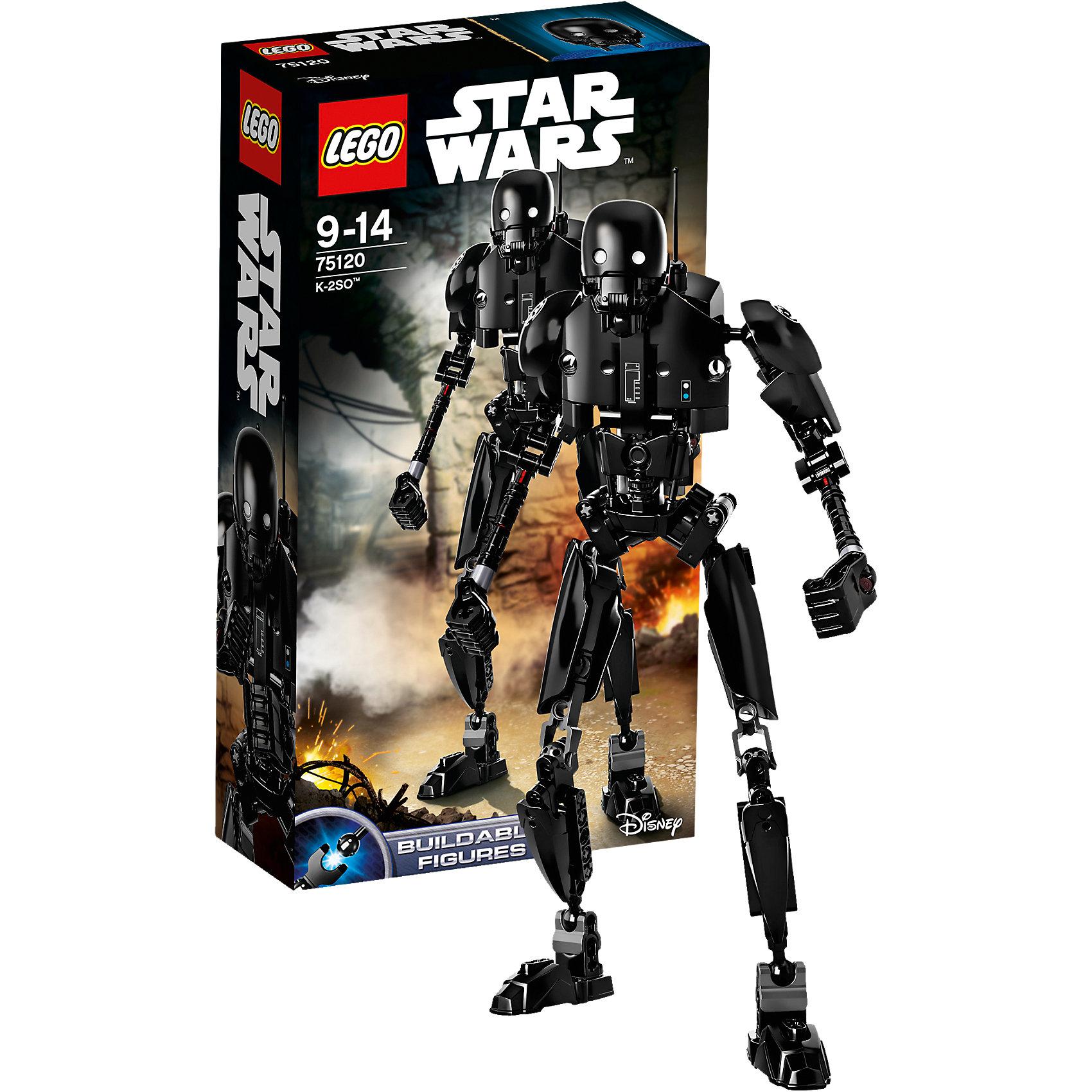 LEGO Star Wars 75120: K-2S0Пластмассовые конструкторы<br>Фильм Звездные войны обожают современные дети. Подарите им возможность играть с героями из любимого фильма, воссоздавая боевые сцены из кино или придумывая свои! Эти фигурки подвижны, состоят из деталей, поэтому детям с ними играть очень интересно. <br>Одна игрушка - только часть большой коллекции LEGO Star Wars, поэтому детям будет интересно еще и коллекционировать разные фигурки и наборы. Такие игрушки помогают ребенку развивать мелкую моторику, воображение и творческое мышление! Материалы, использованные при изготовлении игрушек, полностью безопасны для детей и отвечают всем требованиям по качеству.<br><br>Дополнительная информация:<br><br>цвет: разноцветный;<br>материал: пластик;<br>деталей: 169;<br>высота игрушки: 29 см.<br><br>LEGO Star Wars 75120: K-2S0 можно приобрести в нашем магазине.<br><br>Ширина мм: 265<br>Глубина мм: 144<br>Высота мм: 66<br>Вес г: 251<br>Возраст от месяцев: 108<br>Возраст до месяцев: 168<br>Пол: Мужской<br>Возраст: Детский<br>SKU: 4641277