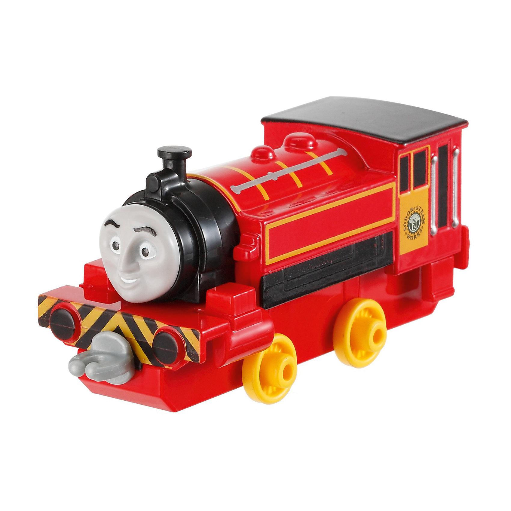 Mattel Паровозик Виктор, Fisher Price, Томас и его друзья mattel игрушки веселые друзья со звуком fisher price в ассортименте