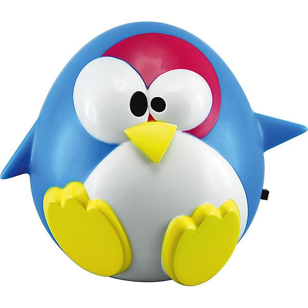 Ночник Юнга LED 0.5Вт, Ultra Light, синийДетские предметы интерьера<br>Ночник, 40 Вт – создаст в детской комнате атмосферу сказочности, дружелюбия и безопасности.<br>Светильник-ночник в форме забавного пингвиненка в течение всей ночи будет световым ориентиром и успокаивающим фактором для детей. На создание этого светильника вдохновил Малый голубой пингвин, обитающий на побережье Южной Австралии, вокруг главных островов Новой Зеландии и на островах Чатем. Светильник полностью безопасен для людей и домашних животных, не нагревается. Корпус светильника-ночника выполнен из безопасного термоустойчивого пластика и снабжен выключателем. Предусмотрено прямое подключение к любым видам розеток. Срок службы 6000 часов. Запрещено использовать в качестве игрушки.<br><br>Дополнительная информация:<br><br>- Непрерывная работа в течение ночи<br>- Тип лампы: LED 0,5Вт<br>- Напряжение: 220В<br>- Материал: высококачественный пластик<br>- Размер: 9,5х9х9,5 см.<br>- Размер упаковки: 11,5 х 10 х 17,5 см.<br>- Вес: 100 гр.<br><br>Ночник, 40 Вт можно купить в нашем интернет-магазине.<br><br>Ширина мм: 115<br>Глубина мм: 100<br>Высота мм: 175<br>Вес г: 100<br>Возраст от месяцев: 36<br>Возраст до месяцев: 120<br>Пол: Унисекс<br>Возраст: Детский<br>SKU: 4641442