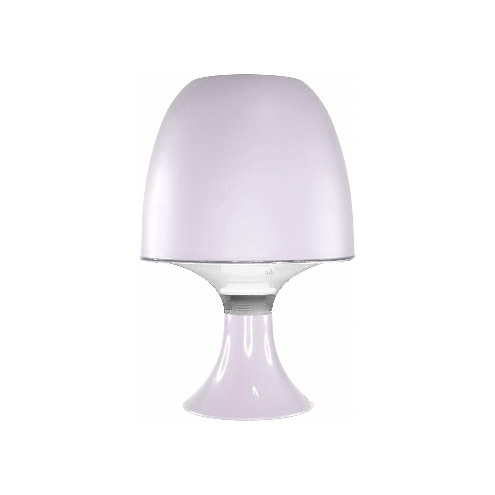Ultra Light Настольный ночник КЛЛ 15Вт, Ultra Light, белый