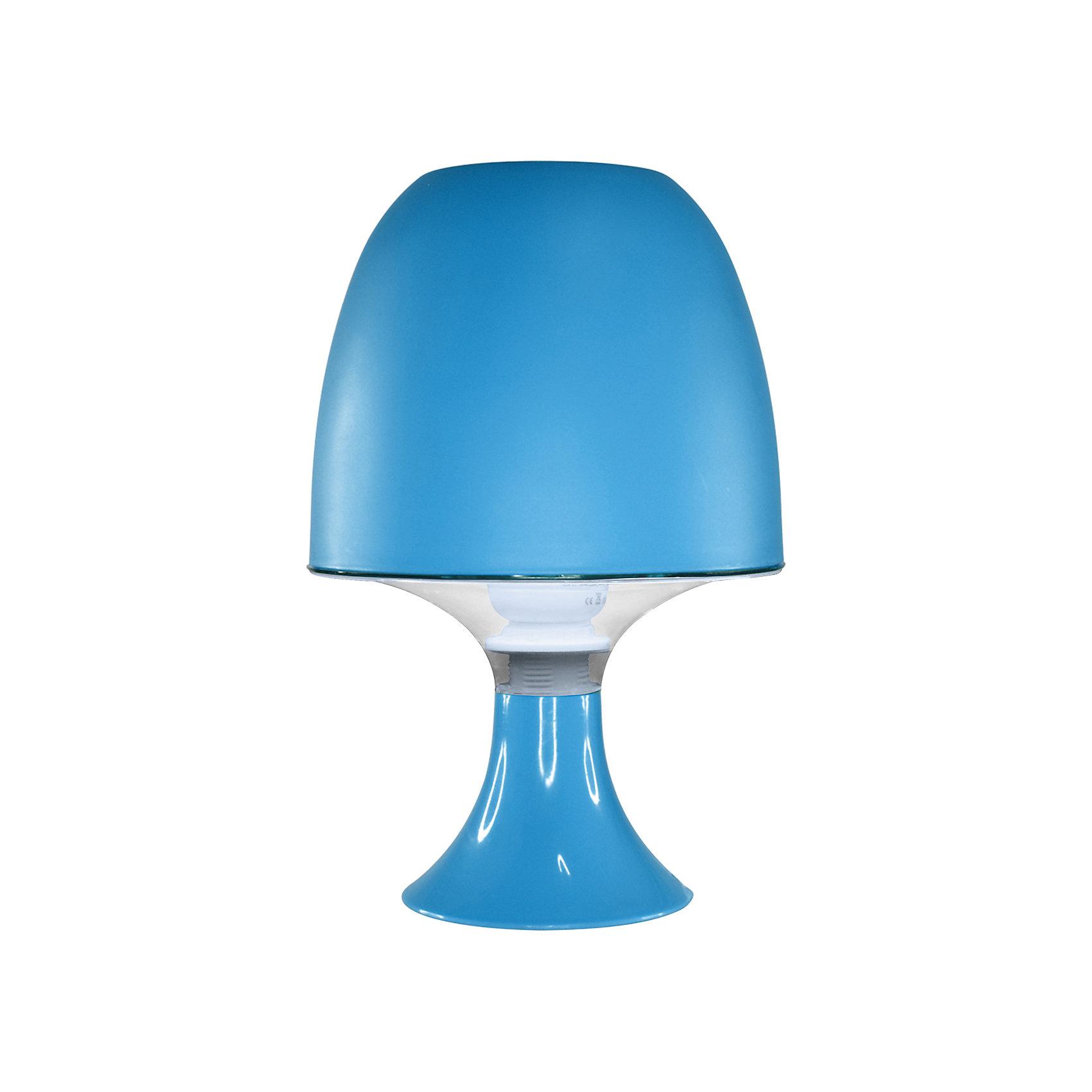 Ultra Light Настольный ночник КЛЛ 15Вт, Ultra Light, голубой