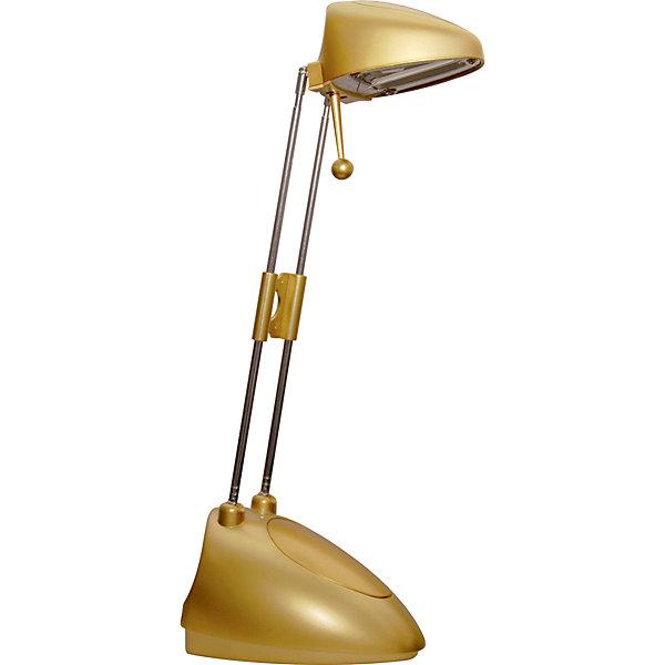 Золотой светильник, 15 ВтДетские предметы интерьера<br>Золотой светильник, 15 Вт – светильник с галогеновой лампой обеспечит яркий световой поток, прекрасно подойдет для освещения рабочего стола.<br>Светильник с галогенной лампой выполнен из термостойких материалов и характеризуется повышенной энергоэкономичностью. Он предназначен для освещения рабочего пространства на письменном столе, создания комфортных условий на рабочем месте. Легкая подвижная конструкция обеспечивает создание светового и теплового комфорта. Конструктивная особенность — раздвижная стойка и ручка поворота позволяют установить светильник в удобное положение для оптимального освещения рабочей поверхности.<br><br>Дополнительная информация:<br><br>- Материал: металл<br>- Цвет: золото<br>- Источник света: ГЛН GY6.35<br>- Мощность лампы: 35 Вт<br>- Напряжение: 220В<br>- Напряжение в светильнике: 12В<br>- Размер светильника: 14,5 х 9,8 х 50 см.<br>- Размер упаковки: 11,5 х 11 х 22 см.<br>- Вес: 680 гр.<br>- ВНИМАНИЕ! Нельзя касаться руками и металлическими предметами колбы галогенной лампы<br><br>Золотой светильник, 15 Вт можно купить в нашем интернет-магазине.<br><br>Ширина мм: 115<br>Глубина мм: 220<br>Высота мм: 110<br>Вес г: 680<br>Возраст от месяцев: 36<br>Возраст до месяцев: 192<br>Пол: Унисекс<br>Возраст: Детский<br>SKU: 4641456