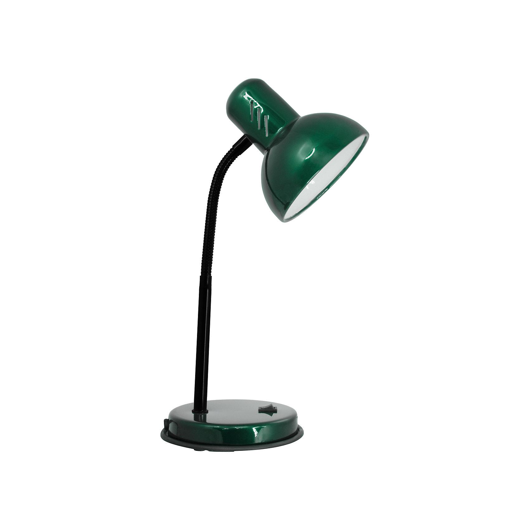 Зеленый перламутровый светильник, 40 ВтЛампы, ночники, фонарики<br>Зеленый перламутровый светильник, 40 Вт – это классический светильник для освещения рабочего стола.<br>Зеленый перламутровый светильник классического дизайна идеально подойдет для освещения рабочего места дома и в офисе. Плафон изготовлен из облегчённого металла, покрыт специальной устойчивой эмалью. Патрон светильника прочно закреплён, изготовлен из керамики. Сетевой шнур с вилкой длиной 1,8м. имеет двойную изоляцию, не требует заземления. Вилка изготовлена из пластичного материала, предотвращающего появление трещин. Светильник удобен и практичен в использовании.<br><br>Дополнительная информация: <br><br>- Материал плафона: металл<br>- Цвет: зеленый перламутровый<br>- Питание: от сети 220В<br>- Тип цоколя: E27<br>- Мощность лампы: 40 Вт<br>- Длина шнура питания с вилкой: 1,8 м.<br>- Размер светильника: 16х30х13,3 см.<br>- Размер упаковки: 26х22,5х16,3 см.<br>- Вес: 860 гр.<br><br>Зеленый перламутровый светильник, 40 Вт можно купить в нашем интернет-магазине.<br><br>Ширина мм: 260<br>Глубина мм: 225<br>Высота мм: 163<br>Вес г: 860<br>Возраст от месяцев: 36<br>Возраст до месяцев: 192<br>Пол: Унисекс<br>Возраст: Детский<br>SKU: 4641466