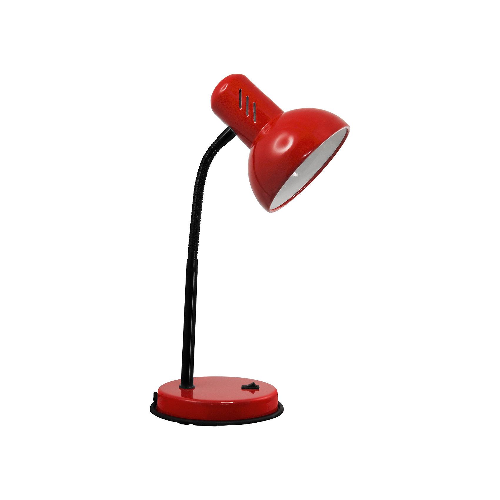 Красный светильник, 40 ВтЛампы, ночники, фонарики<br>Красный светильник, 40 Вт – это классический светильник для освещения рабочего стола.<br>Красный светильник классического дизайна идеально подойдет для освещения рабочего места дома и в офисе. Плафон изготовлен из облегчённого металла, покрыт специальной устойчивой эмалью. Патрон светильника прочно закреплён, изготовлен из керамики. Сетевой шнур с вилкой длиной 1,8м. имеет двойную изоляцию, не требует заземления. Вилка изготовлена из пластичного материала, предотвращающего появление трещин. Светильник удобен и практичен в использовании.<br><br>Дополнительная информация: <br><br>- Материал плафона: металл<br>- Цвет: красный<br>- Питание: от сети 220В<br>- Тип цоколя: E27<br>- Мощность лампы: 40 Вт<br>- Длина шнура питания с вилкой: 1,8 м.<br>- Размер светильника: 16х30х13,3 см.<br>- Размер упаковки: 26х22,5х16,3 см.<br>- Вес: 860 гр.<br><br>Красный светильник, 40 Вт можно купить в нашем интернет-магазине.<br><br>Ширина мм: 260<br>Глубина мм: 225<br>Высота мм: 163<br>Вес г: 860<br>Возраст от месяцев: 36<br>Возраст до месяцев: 192<br>Пол: Унисекс<br>Возраст: Детский<br>SKU: 4641468
