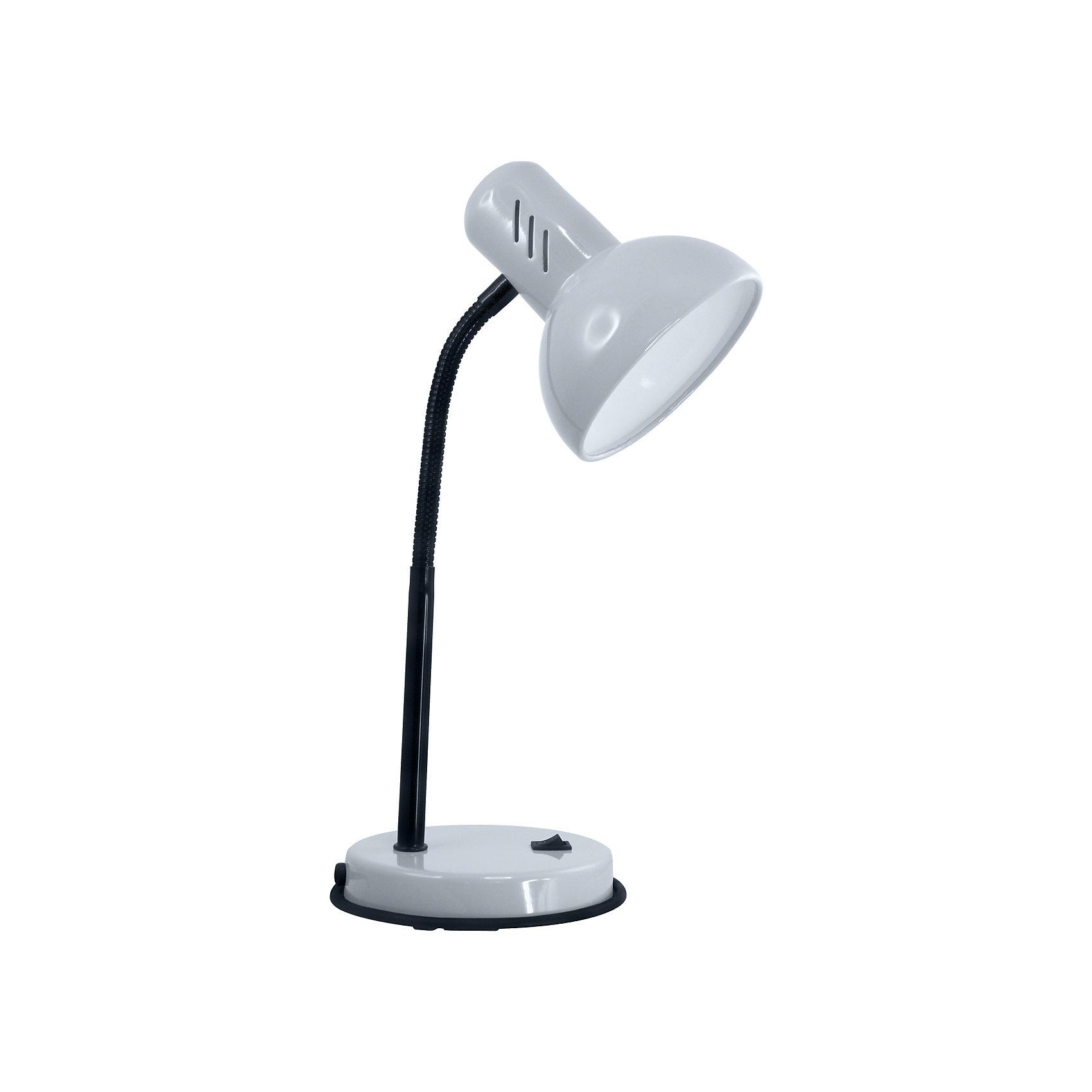 Серый светильник, 40 ВтСерый светильник, 40 Вт – это классический светильник для освещения рабочего стола.<br>Серый светильник классического дизайна идеально подойдет для освещения рабочего места дома и в офисе. Плафон изготовлен из облегчённого металла, покрыт специальной устойчивой эмалью. Патрон светильника прочно закреплён, изготовлен из керамики. Сетевой шнур с вилкой длиной 1,8м. имеет двойную изоляцию, не требует заземления. Вилка изготовлена из пластичного материала, предотвращающего появление трещин. Светильник удобен и практичен в использовании.<br><br>Дополнительная информация: <br><br>- Материал плафона: металл<br>- Цвет: серый<br>- Питание: от сети 220В<br>- Тип цоколя: E27<br>- Мощность лампы: 40 Вт<br>- Длина шнура питания с вилкой: 1,8 м.<br>- Размер светильника: 16х30х13,3 см.<br>- Размер упаковки: 26х22,5х16,3 см.<br>- Вес: 860 гр.<br><br>Серый светильник, 40 Вт можно купить в нашем интернет-магазине.<br><br>Ширина мм: 260<br>Глубина мм: 225<br>Высота мм: 163<br>Вес г: 860<br>Возраст от месяцев: 36<br>Возраст до месяцев: 192<br>Пол: Унисекс<br>Возраст: Детский<br>SKU: 4641469