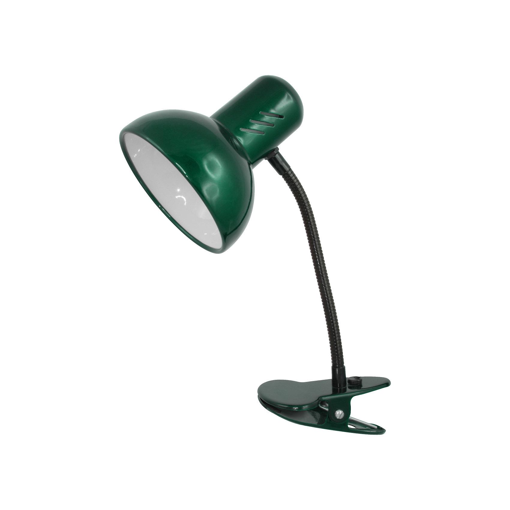 Зеленый перламутровый светильник, 40 ВтЛампы, ночники, фонарики<br>Зеленый перламутровый светильник, 40 Вт – это классический светильник для освещения рабочего стола.<br>Зеленый перламутровый светильник классического дизайна идеально подойдет для освещения рабочего места дома и в офисе. Светильник крепиться с помощью зажима-прищепки. Плафон изготовлен из облегчённого металла, покрыт специальной устойчивой эмалью. Патрон светильника прочно закреплён, изготовлен из керамики. Сетевой шнур с вилкой длиной 1,8м. имеет двойную изоляцию, не требует заземления. Вилка изготовлена из пластичного материала, предотвращающего появление трещин. Светильник удобен и практичен в использовании.<br><br>Дополнительная информация: <br><br>- Материал плафона: металл<br>- Цвет: зеленый перламутровый<br>- Питание: от сети 220В<br>- Тип цоколя: E27<br>- Мощность лампы: 40 Вт<br>- Длина шнура питания с вилкой: 1,8 м.<br>- Размер светильника: 17х22,5х12,5 см.<br>- Размер упаковки: 24х16х14 см.<br>- Вес: 642 гр.<br><br>Зеленый перламутровый светильник, 40 Вт можно купить в нашем интернет-магазине.<br><br>Ширина мм: 240<br>Глубина мм: 160<br>Высота мм: 140<br>Вес г: 642<br>Возраст от месяцев: 36<br>Возраст до месяцев: 192<br>Пол: Унисекс<br>Возраст: Детский<br>SKU: 4641472