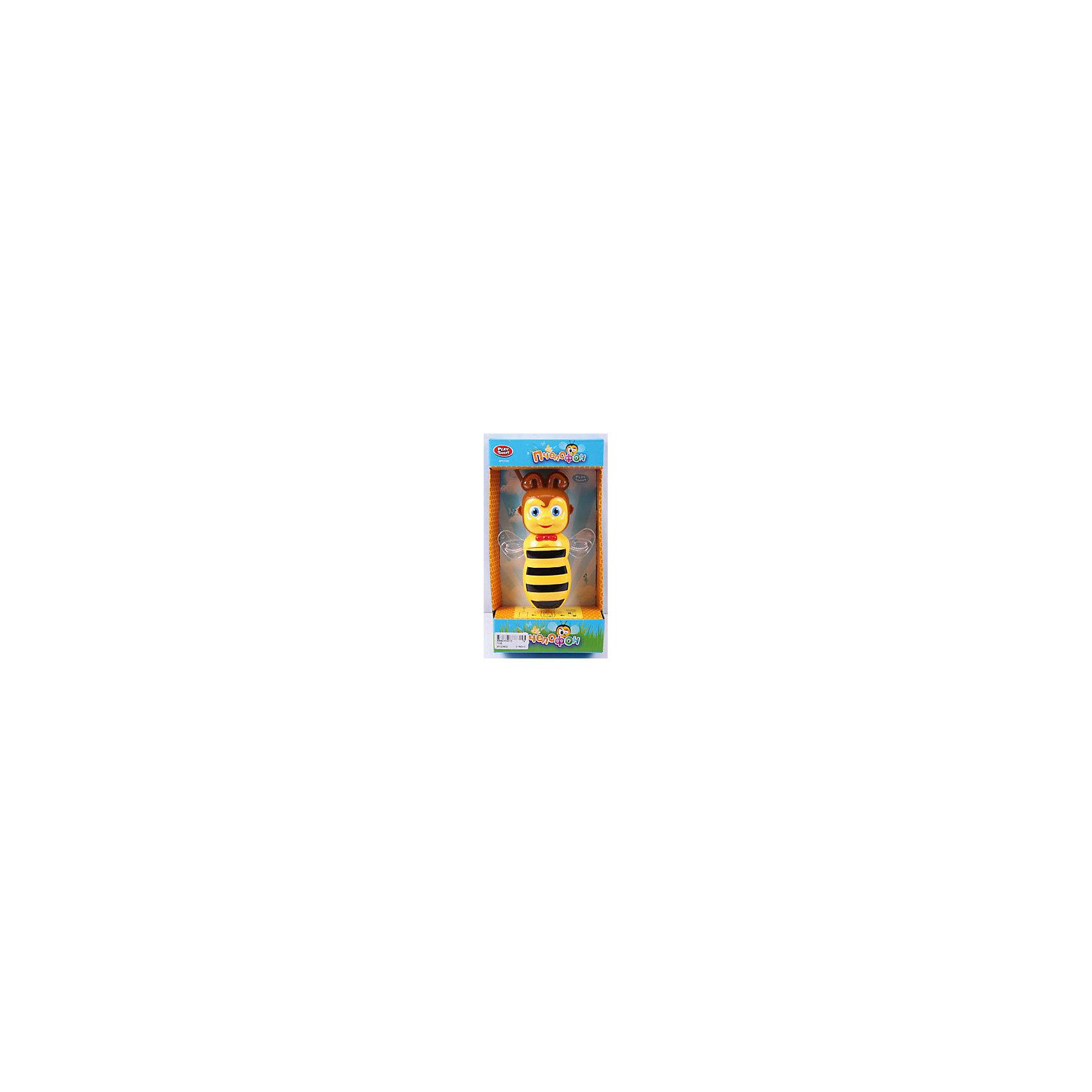 Развивающий телефон Пчелофон, Play SmartМузыкальные инструменты и игрушки<br>Телефон развивающий Пчелофон 25*13*6 см<br><br>Ширина мм: 260<br>Глубина мм: 130<br>Высота мм: 60<br>Вес г: 234<br>Возраст от месяцев: 36<br>Возраст до месяцев: 72<br>Пол: Унисекс<br>Возраст: Детский<br>SKU: 4642009