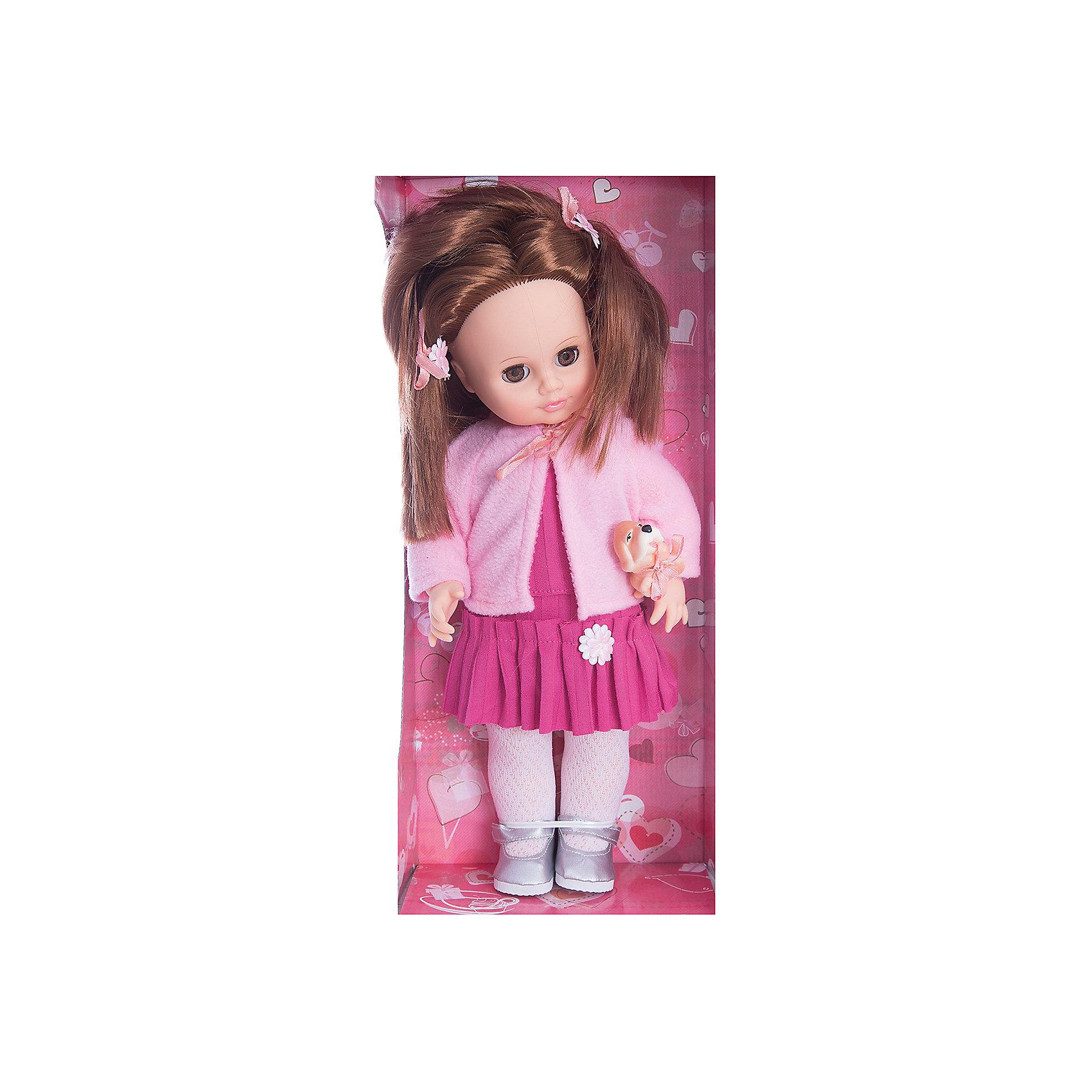 Весна Кукла Анна с собачкой, 43 см, со звуком, Весна кукла весна алсу 35 см со звуком в1634 о