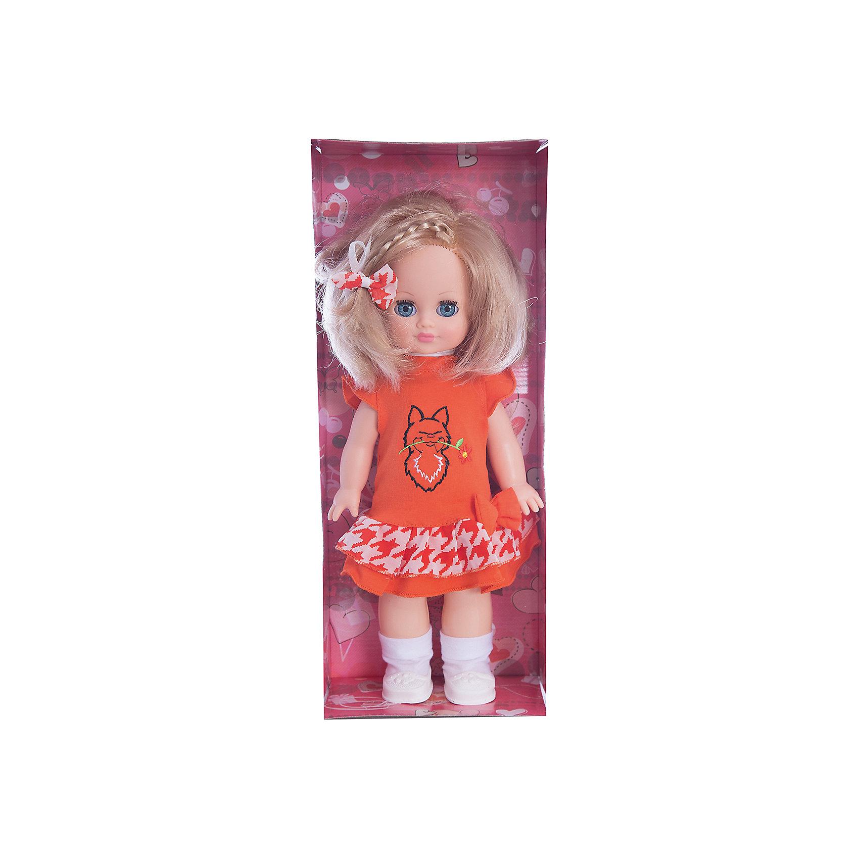 Кукла Наталья 1, со звуком, 35,5 см, ВеснаКакая девочка не любит кукол?! Кукла для девочки - это не только игрушка, с которой можно весело провести время, кукла - это возможность отрабатывать навыки поведения в обществе, учиться заботе о других, делать прически и одеваться согласно моде и поводу.<br>Эта красивая классическая кукла не только эффектно выглядит, она дополнена звуковым модулем! Игрушка модно одета и снабжена аксессуарами. Такая кукла запросто может стать самой любимой игрушкой! Произведена из безопасных для ребенка и качественных материалов.<br><br>Дополнительная информация:<br><br>цвет: разноцветный;<br>материал: пластик, текстиль;<br>комплектация: кукла, одежда;<br>высота: 35,5 см.<br><br>Куклу  Наталья 1, со звуком, 35,5 см, от компании Весна можно купить в нашем магазине.<br><br>Ширина мм: 170<br>Глубина мм: 100<br>Высота мм: 420<br>Вес г: 350<br>Возраст от месяцев: 36<br>Возраст до месяцев: 120<br>Пол: Женский<br>Возраст: Детский<br>SKU: 4642020