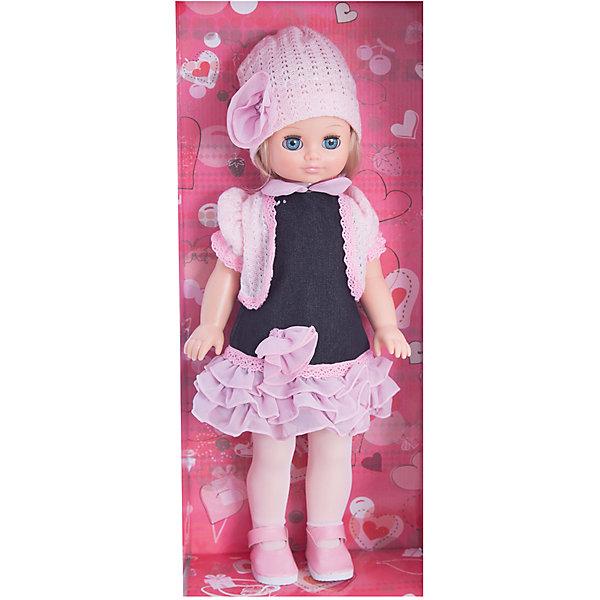 Кукла Лиза 17, со звуком, ВеснаКуклы<br>Какая девочка не любит кукол?! Кукла для девочки - это не только игрушка, с которой можно весело провести время, кукла - это возможность отрабатывать навыки поведения в обществе, учиться заботе о других, делать прически и одеваться согласно моде и поводу.<br>Эта красивая классическая кукла не только эффектно выглядит, она дополнена звуковым модулем! Игрушка модно одета и снабжена аксессуарами. Такая кукла запросто может стать самой любимой игрушкой! Произведена из безопасных для ребенка и качественных материалов.<br><br>Дополнительная информация:<br><br>цвет: разноцветный;<br>материал: пластик, текстиль;<br>комплектация: кукла, одежда, аксессуары;<br>высота: 42 см.<br><br>Куклу Лиза 17, со звуком, от компании Весна можно купить в нашем магазине.<br><br>Ширина мм: 490<br>Глубина мм: 210<br>Высота мм: 130<br>Вес г: 550<br>Возраст от месяцев: 36<br>Возраст до месяцев: 120<br>Пол: Женский<br>Возраст: Детский<br>SKU: 4642025