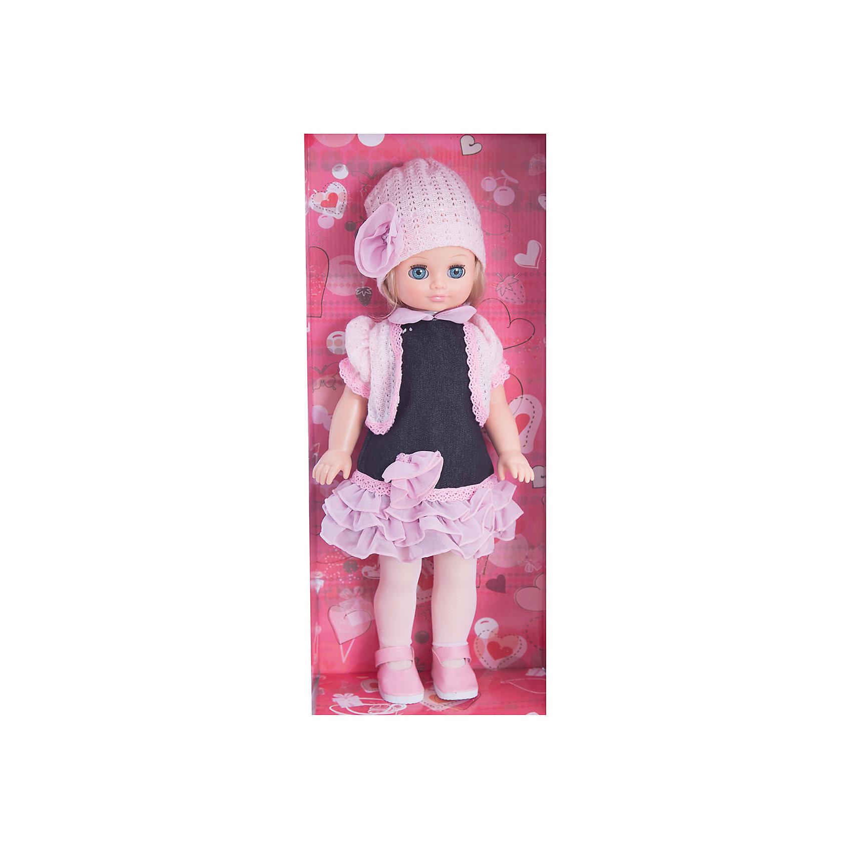 Кукла Лиза 17, со звуком, ВеснаКлассические куклы<br>Какая девочка не любит кукол?! Кукла для девочки - это не только игрушка, с которой можно весело провести время, кукла - это возможность отрабатывать навыки поведения в обществе, учиться заботе о других, делать прически и одеваться согласно моде и поводу.<br>Эта красивая классическая кукла не только эффектно выглядит, она дополнена звуковым модулем! Игрушка модно одета и снабжена аксессуарами. Такая кукла запросто может стать самой любимой игрушкой! Произведена из безопасных для ребенка и качественных материалов.<br><br>Дополнительная информация:<br><br>цвет: разноцветный;<br>материал: пластик, текстиль;<br>комплектация: кукла, одежда, аксессуары;<br>высота: 42 см.<br><br>Куклу Лиза 17, со звуком, от компании Весна можно купить в нашем магазине.<br><br>Ширина мм: 490<br>Глубина мм: 210<br>Высота мм: 130<br>Вес г: 550<br>Возраст от месяцев: 36<br>Возраст до месяцев: 120<br>Пол: Женский<br>Возраст: Детский<br>SKU: 4642025