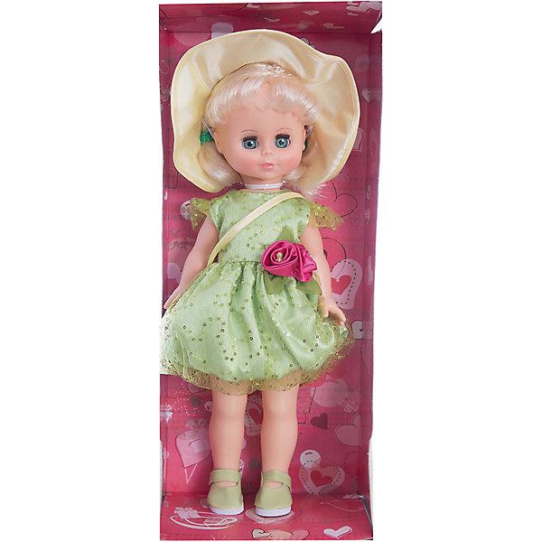 Кукла Оля 11, со звуком, ВеснаБренды кукол<br>Кукла для девочки - это не только игрушка, с которой можно весело провести время, кукла - это возможность отрабатывать навыки поведения в обществе, учиться заботе о других, делать прически и одеваться согласно моде и поводу.<br>Эта красивая классическая кукла не только эффектно выглядит, она дополнена звуковым модулем! Игрушка модно одета и снабжена аксессуарами. Такая кукла запросто может стать самой любимой игрушкой! Произведена из безопасных для ребенка и качественных материалов.<br><br>Дополнительная информация:<br><br>цвет: разноцветный;<br>материал: пластик, текстиль;<br>комплектация: кукла, одежда, аксессуары;<br>высота: 43 см.<br><br>Куклу Оля 11, со звуком, от компании Весна можно купить в нашем магазине.<br>Ширина мм: 440; Глубина мм: 240; Высота мм: 440; Вес г: 750; Возраст от месяцев: 36; Возраст до месяцев: 120; Пол: Женский; Возраст: Детский; SKU: 4642026;