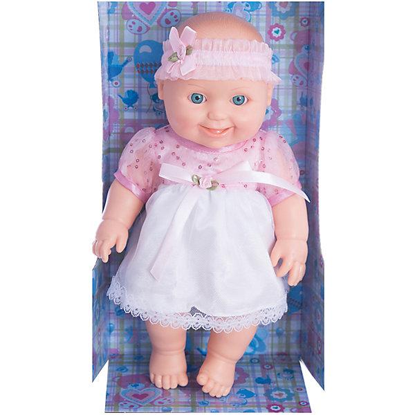 Кукла Малышка 10, пластмассовая, 31 см, ВеснаКуклы<br>Игрушки от компании Весна - это простой способ порадовать ребенка! Кукла для девочки - это не только игрушка, с которой можно весело провести время, кукла - это возможность отрабатывать навыки поведения в обществе, учиться заботе о других, делать прически и одеваться согласно моде и поводу.<br>Эта красивая кукла-пупс только симпатично выглядит, она дополнена модным нарядом! У нее двигаются руки и ноги. Такая кукла запросто может стать самой любимой игрушкой! Произведена из безопасных для ребенка и качественных материалов.<br><br>Дополнительная информация:<br><br>цвет: разноцветный;<br>материал: пластик, текстиль;<br>комплектация: кукла, одежда;<br>высота: 31 см.<br><br>Куклу Малышка 10, пластмассовая, 31 см, от компании Весна можно купить в нашем магазине.<br><br>Ширина мм: 335<br>Глубина мм: 350<br>Высота мм: 205<br>Вес г: 460<br>Возраст от месяцев: 36<br>Возраст до месяцев: 120<br>Пол: Женский<br>Возраст: Детский<br>SKU: 4642027