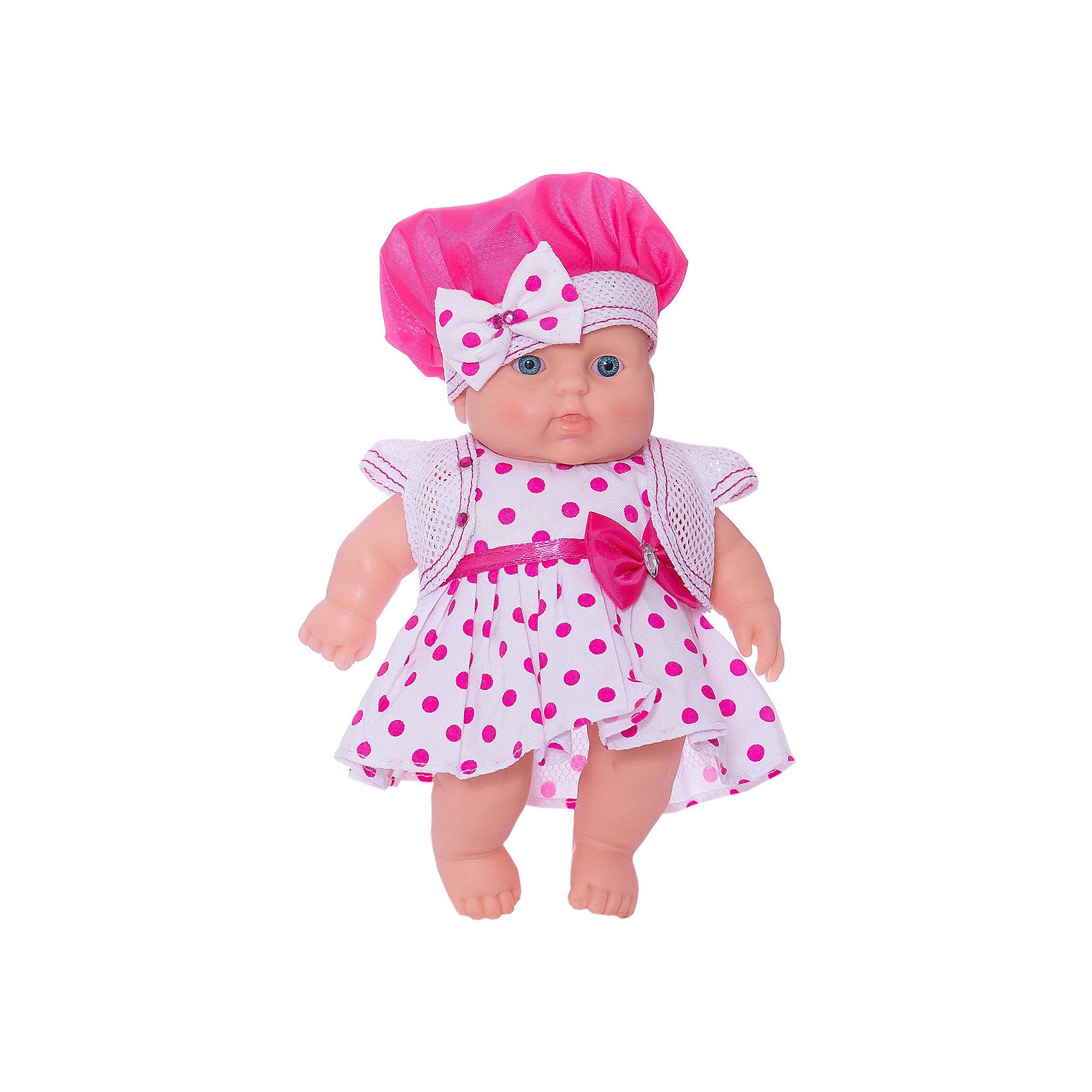 Кукла Карапуз 14 (девочка), 20 см, ВеснаКуклы<br>Игрушки от компании Весна - это простой способ порадовать ребенка! Кукла для девочки - это не только игрушка, с которой можно весело провести время, кукла - это возможность отрабатывать навыки поведения в обществе, учиться заботе о других, делать прически и одеваться согласно моде и поводу.<br>Эта красивая кукла-пупс только симпатично выглядит, она дополнена модным нарядом! С ней даже можно купаться Такая кукла запросто может стать самой любимой игрушкой! Произведена из безопасных для ребенка и качественных материалов.<br><br>Дополнительная информация:<br><br>цвет: разноцветный;<br>материал: пластик, текстиль;<br>комплектация: кукла, одежда;<br>высота: 20 см.<br><br>Куклу Карапуз 14 (девочка), 20 см, от компании Весна можно купить в нашем магазине.<br><br>Ширина мм: 20<br>Глубина мм: 9<br>Высота мм: 200<br>Вес г: 195<br>Возраст от месяцев: 36<br>Возраст до месяцев: 120<br>Пол: Женский<br>Возраст: Детский<br>SKU: 4642028