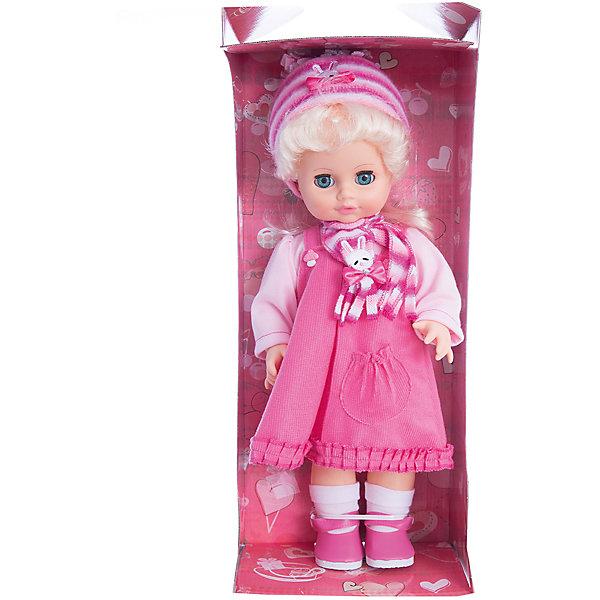 Кукла Инна 46, со звуком, ВеснаКуклы<br>Кукла для девочки - это не только игрушка, с которой можно весело провести время, кукла - это возможность отрабатывать навыки поведения в обществе, учиться заботе о других, делать прически и одеваться согласно моде и поводу.<br>Эта красивая классическая кукла не только эффектно выглядит, она дополнена звуковым модулем! Игрушка модно одета и снабжена аксессуарами. Такая кукла запросто может стать самой любимой игрушкой! Произведена из безопасных для ребенка и качественных материалов.<br><br>Дополнительная информация:<br><br>цвет: разноцветный;<br>материал: пластик, текстиль;<br>комплектация: кукла, одежда, аксессуары;<br>высота: 43 см.<br><br>Куклу Инна 46 со звуком от компании Весна можно купить в нашем магазине.<br><br>Ширина мм: 430<br>Глубина мм: 240<br>Высота мм: 430<br>Вес г: 810<br>Возраст от месяцев: 36<br>Возраст до месяцев: 120<br>Пол: Женский<br>Возраст: Детский<br>SKU: 4642030