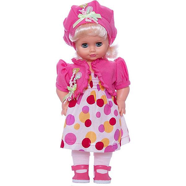 Кукла Инна 47, со звуком, ВеснаКуклы<br>Кукла для девочки - это не только игрушка, с которой можно весело провести время, кукла - это возможность отрабатывать навыки поведения в обществе, учиться заботе о других, делать прически и одеваться согласно моде и поводу.<br>Эта красивая классическая кукла не только эффектно выглядит, она дополнена звуковым модулем! Игрушка модно одета и снабжена аксессуарами. Такая кукла запросто может стать самой любимой игрушкой! Произведена из безопасных для ребенка и качественных материалов.<br><br>Дополнительная информация:<br><br>цвет: разноцветный;<br>материал: пластик, текстиль;<br>комплектация: кукла, одежда, аксессуары;<br>высота: 43 см.<br><br>Куклу Инна 47 со звуком от компании Весна можно купить в нашем магазине.<br><br>Ширина мм: 430<br>Глубина мм: 240<br>Высота мм: 430<br>Вес г: 810<br>Возраст от месяцев: 36<br>Возраст до месяцев: 120<br>Пол: Женский<br>Возраст: Детский<br>SKU: 4642031