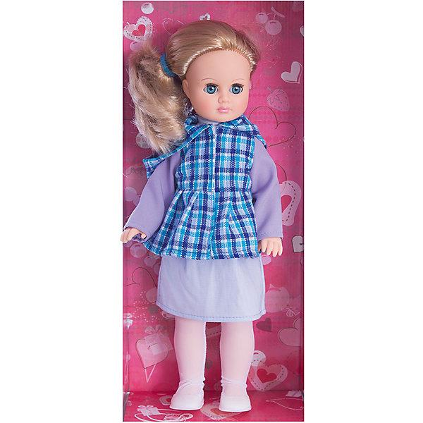 Кукла Марта 7, со звуком, 40 см, ВеснаБренды кукол<br>Какая девочка не любит кукол?! Кукла для девочки - это не только игрушка, с которой можно весело провести время, кукла - это возможность отрабатывать навыки поведения в обществе, учиться заботе о других, делать прически и одеваться согласно моде и поводу.<br>Эта красивая классическая кукла не только эффектно выглядит, она дополнена звуковым модулем! Игрушка модно одета и снабжена аксессуарами. Такая кукла запросто может стать самой любимой игрушкой! Произведена из безопасных для ребенка и качественных материалов.<br><br>Дополнительная информация:<br><br>цвет: разноцветный;<br>материал: пластик, текстиль;<br>комплектация: кукла, одежда, аксессуары;<br>высота: 40 см.<br><br>Куклу Марта 7, со звуком, 40 см, от компании Весна можно купить в нашем магазине.<br><br>Ширина мм: 420<br>Глубина мм: 170<br>Высота мм: 100<br>Вес г: 360<br>Возраст от месяцев: 36<br>Возраст до месяцев: 120<br>Пол: Женский<br>Возраст: Детский<br>SKU: 4642037