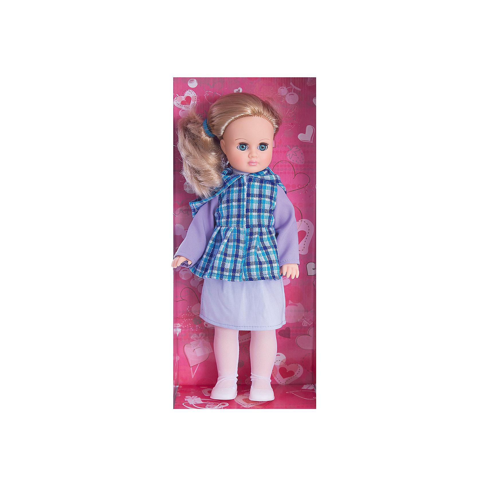Кукла Марта 7, со звуком, 40 см, ВеснаКлассические куклы<br>Какая девочка не любит кукол?! Кукла для девочки - это не только игрушка, с которой можно весело провести время, кукла - это возможность отрабатывать навыки поведения в обществе, учиться заботе о других, делать прически и одеваться согласно моде и поводу.<br>Эта красивая классическая кукла не только эффектно выглядит, она дополнена звуковым модулем! Игрушка модно одета и снабжена аксессуарами. Такая кукла запросто может стать самой любимой игрушкой! Произведена из безопасных для ребенка и качественных материалов.<br><br>Дополнительная информация:<br><br>цвет: разноцветный;<br>материал: пластик, текстиль;<br>комплектация: кукла, одежда, аксессуары;<br>высота: 40 см.<br><br>Куклу Марта 7, со звуком, 40 см, от компании Весна можно купить в нашем магазине.<br><br>Ширина мм: 420<br>Глубина мм: 170<br>Высота мм: 100<br>Вес г: 360<br>Возраст от месяцев: 36<br>Возраст до месяцев: 120<br>Пол: Женский<br>Возраст: Детский<br>SKU: 4642037