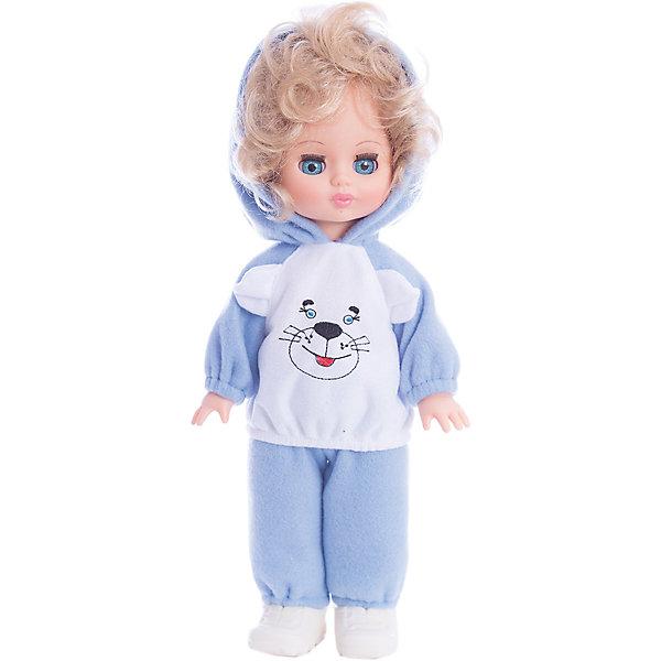 Кукла Жанна 14, со звуком, ВеснаБренды кукол<br>Какая девочка не любит кукол?! Кукла для девочки - это не только игрушка, с которой можно весело провести время, кукла - это возможность отрабатывать навыки поведения в обществе, учиться заботе о других, делать прически и одеваться согласно моде и поводу.<br>Эта красивая классическая кукла не только эффектно выглядит, она дополнена звуковым модулем! Игрушка модно одета и снабжена аксессуарами. Такая кукла запросто может стать самой любимой игрушкой! Произведена из безопасных для ребенка и качественных материалов.<br><br>Дополнительная информация:<br><br>цвет: разноцветный;<br>материал: пластик, текстиль;<br>комплектация: кукла, одежда;<br>высота: 34 см.<br><br>Куклу Жанна 14, со звуком, от компании Весна можно купить в нашем магазине.<br><br>Ширина мм: 420<br>Глубина мм: 170<br>Высота мм: 100<br>Вес г: 360<br>Возраст от месяцев: 36<br>Возраст до месяцев: 120<br>Пол: Женский<br>Возраст: Детский<br>SKU: 4642040